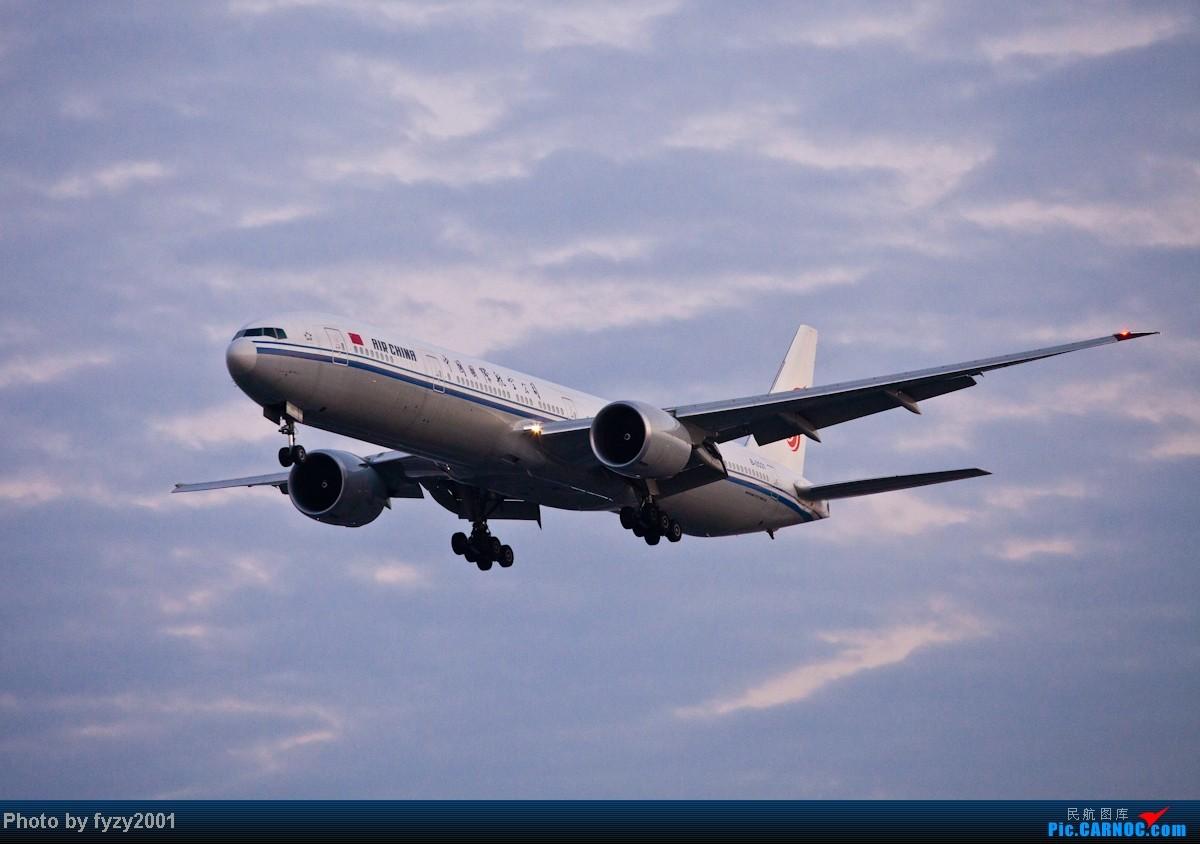 Re:[原创][无锡西站]在SHA拍到的20架国航77W BOEING 777-300ER B-2031 中国上海虹桥机场