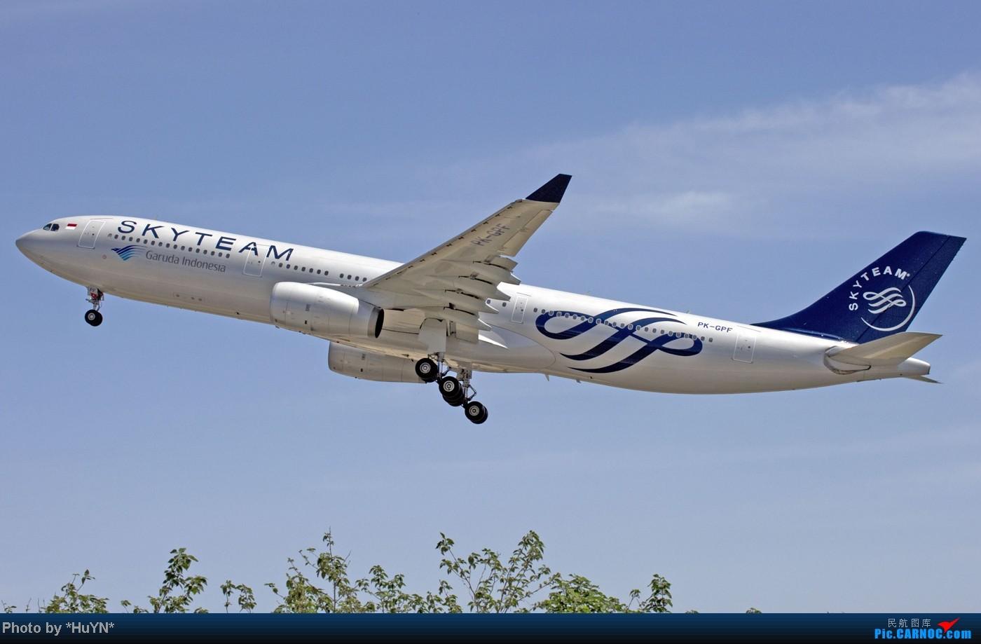 [原创]存货一组 AIRBUS A330-341 PK-GPF 中国北京首都国际机场