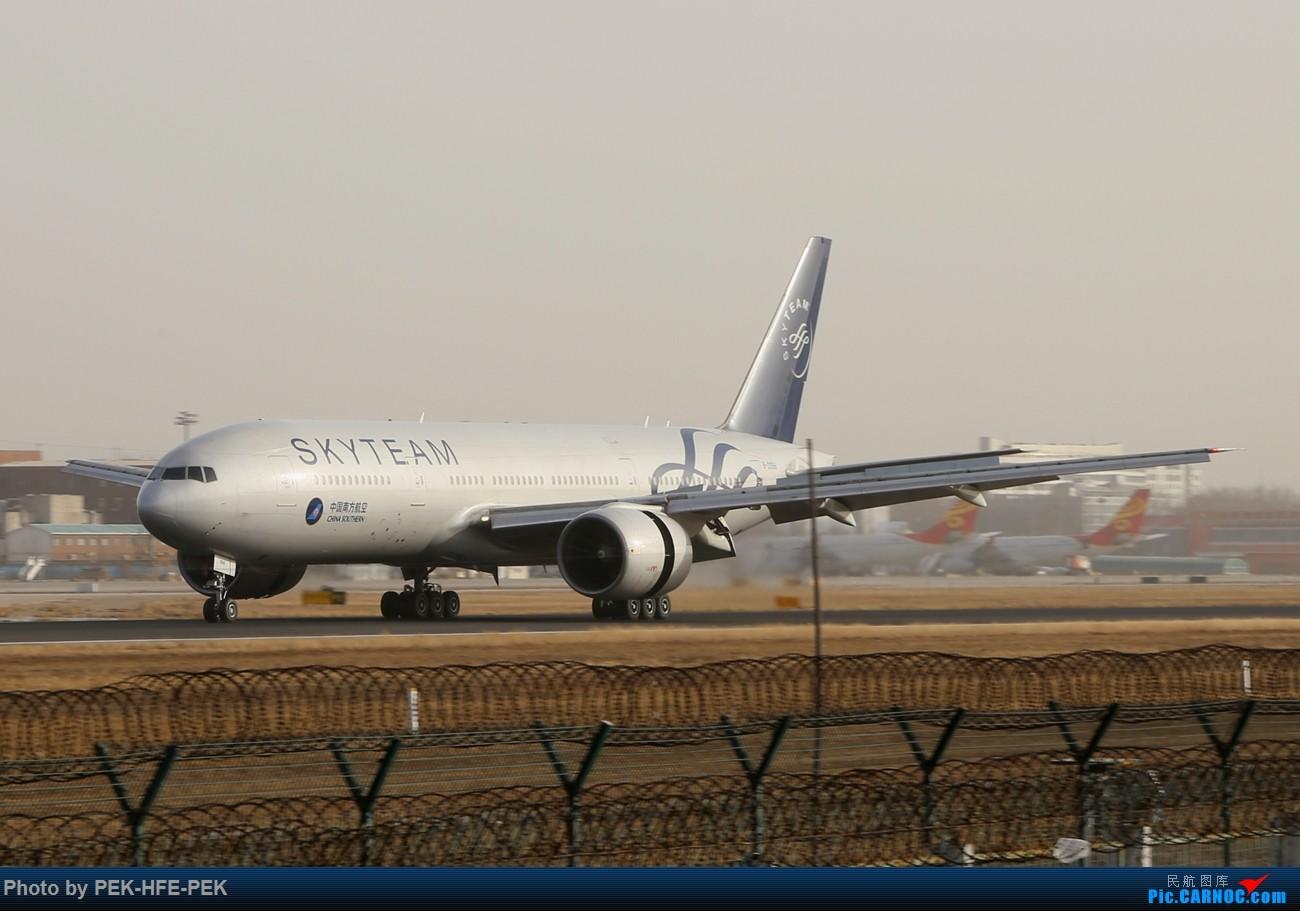 Re:[原创]【AutumnKwok】11.30拍机(南航77B天合最后一次在北京落地,校验机,海航767拆发动机) BOEING 777-200 B-2056