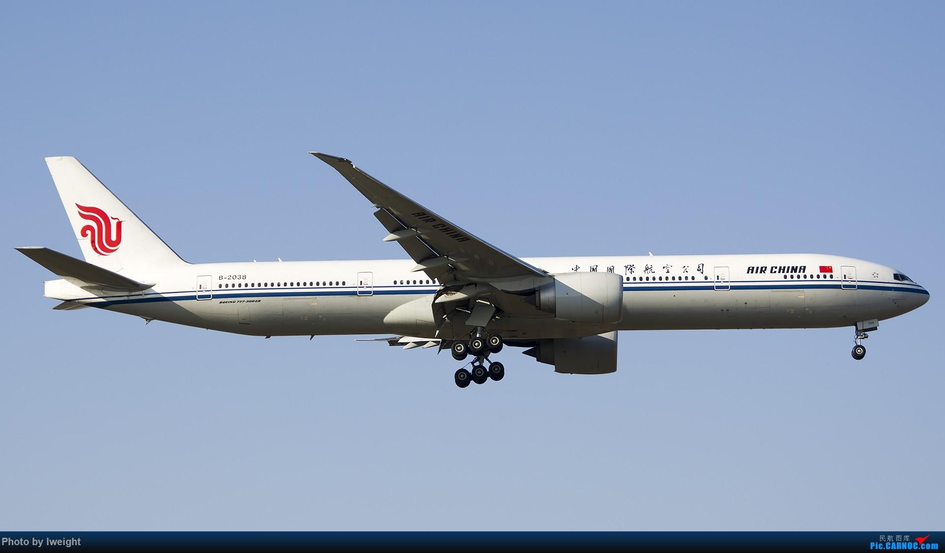 Re:[原创]2014-12-02 ZBAA随拍 BOEING 777-300ER B-2038 中国北京首都国际机场