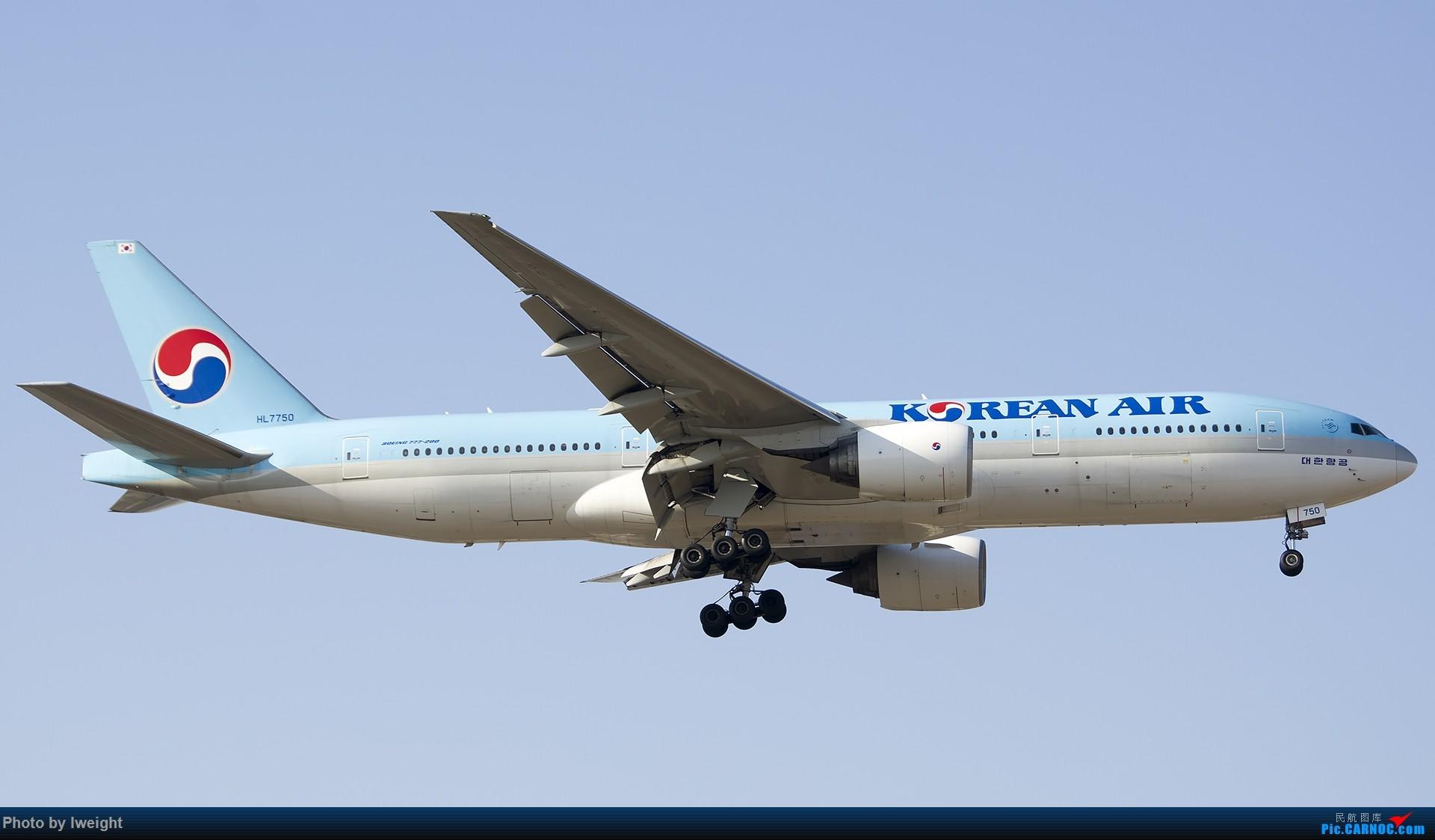 Re:[原创]2014-12-02 ZBAA随拍 BOEING 777-200 HL7750 中国北京首都国际机场
