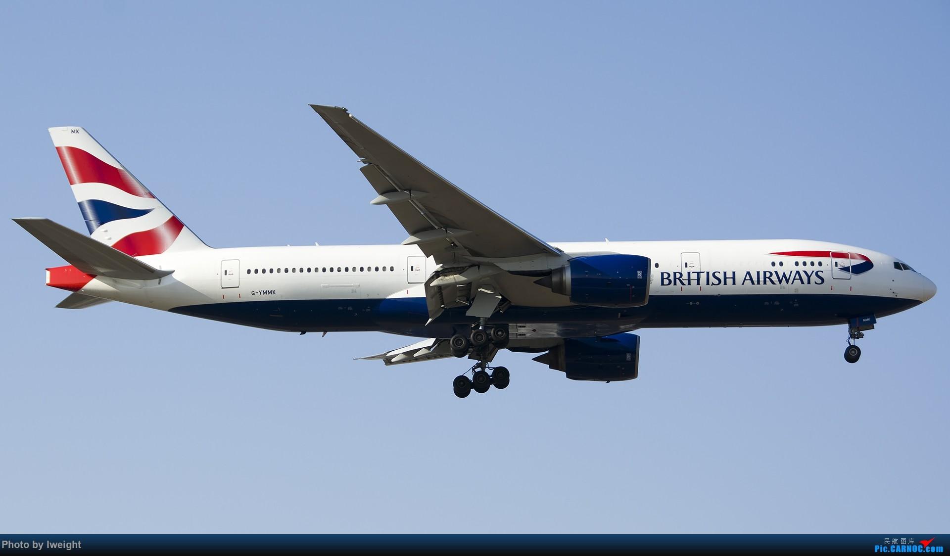 Re:[原创]2014-12-02 ZBAA随拍 BOEING 777-200ER G-YMMK 中国北京首都国际机场