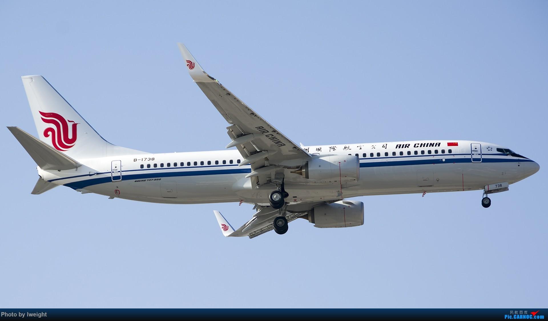 Re:[原创]2014-12-02 ZBAA随拍 BOEING 737-800 B-1738 中国北京首都国际机场