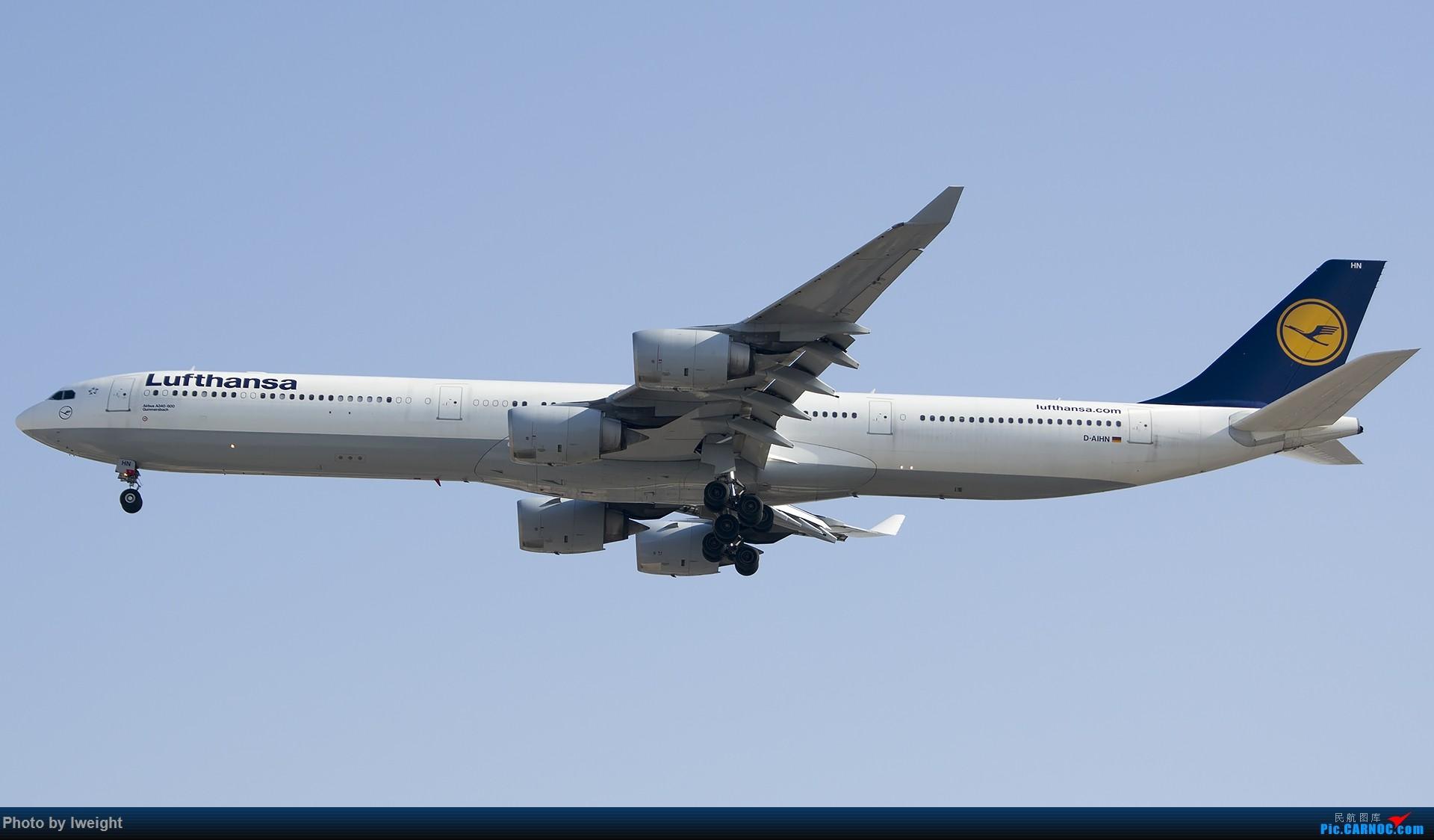 Re:[原创]2014-12-02 ZBAA随拍 AIRBUS A340-600 D-AIHN 中国北京首都国际机场