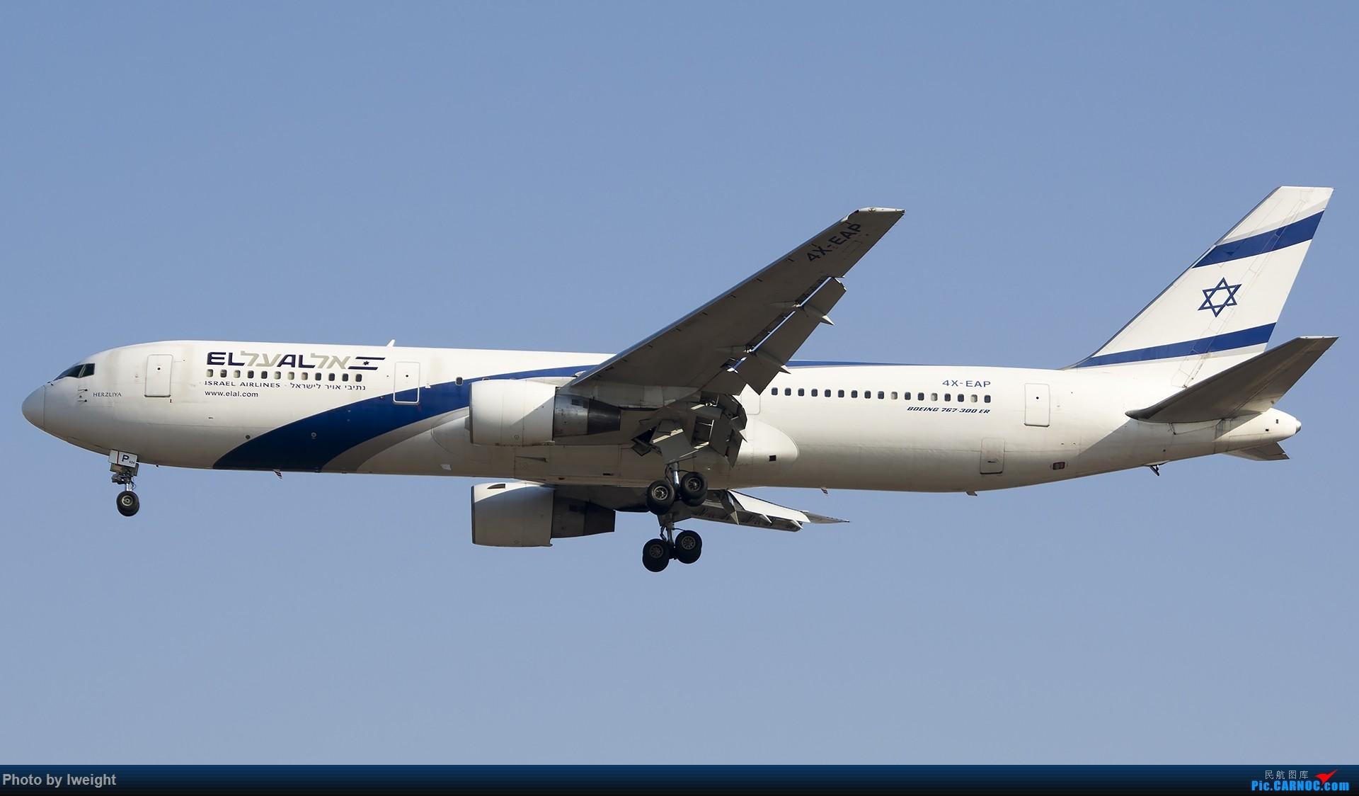 Re:[原创]2014-12-02 ZBAA随拍 BOEING 767-300ER 4X-EAP 中国北京首都国际机场