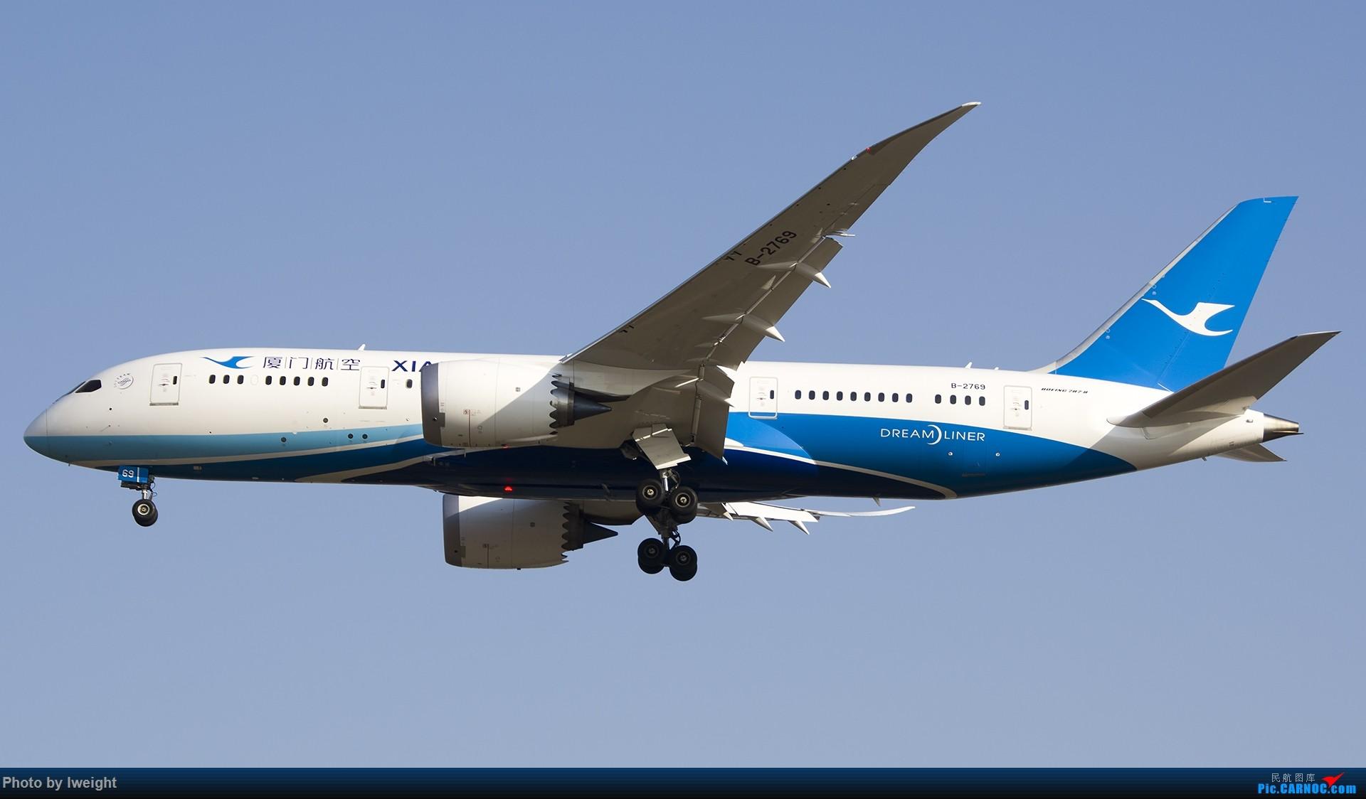 Re:[原创]2014-12-02 ZBAA随拍 BOEING 787-8 B-2769 中国北京首都国际机场