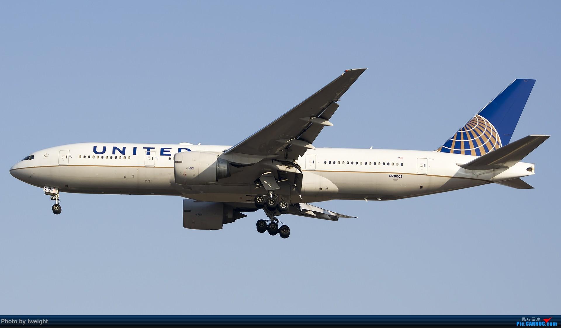 Re:[原创]2014-12-02 ZBAA随拍 BOEING 777-200ER N78005 中国北京首都国际机场