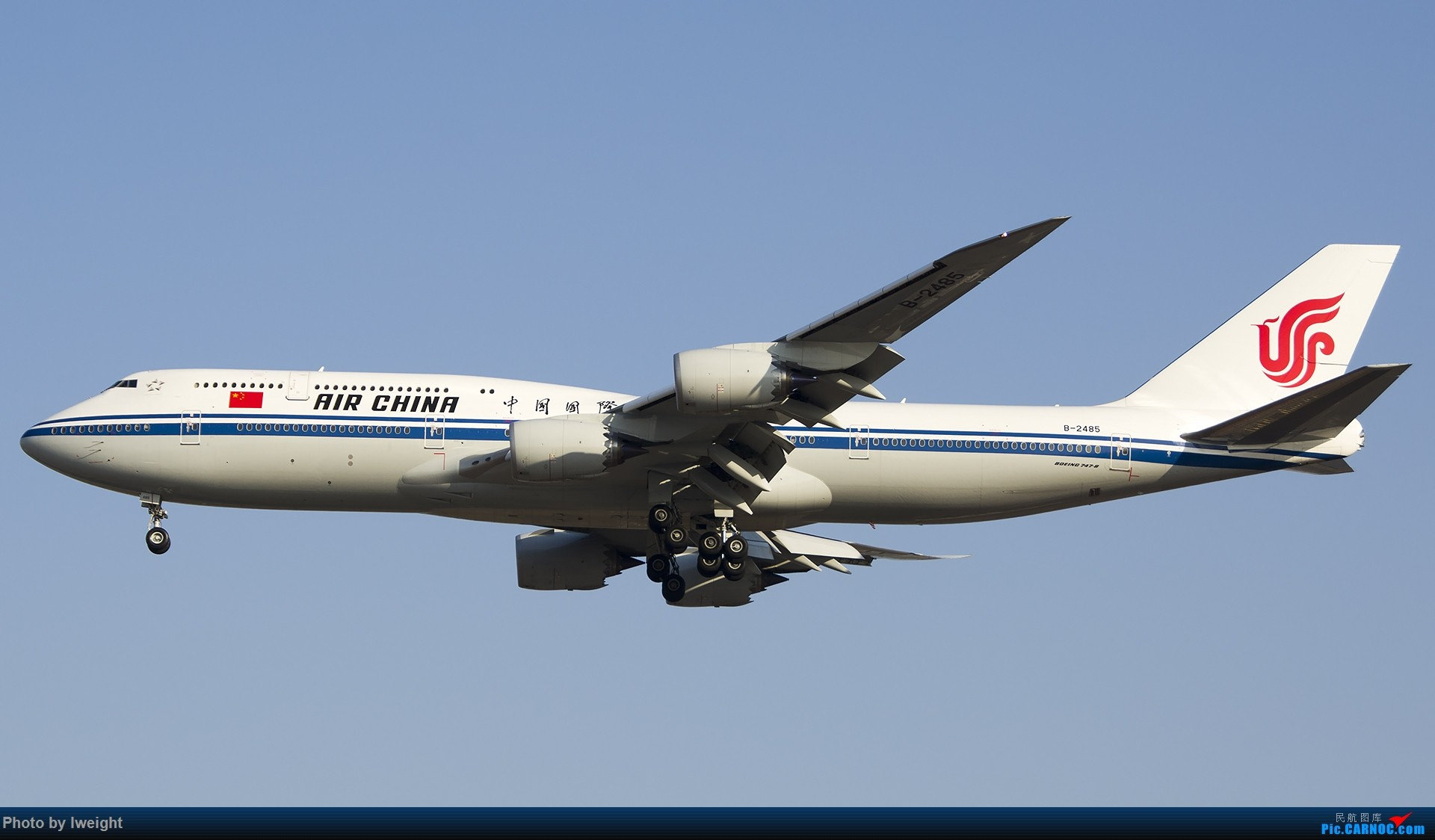 Re:[原创]2014-12-02 ZBAA随拍 BOEING 747-8I B-2485 中国北京首都国际机场