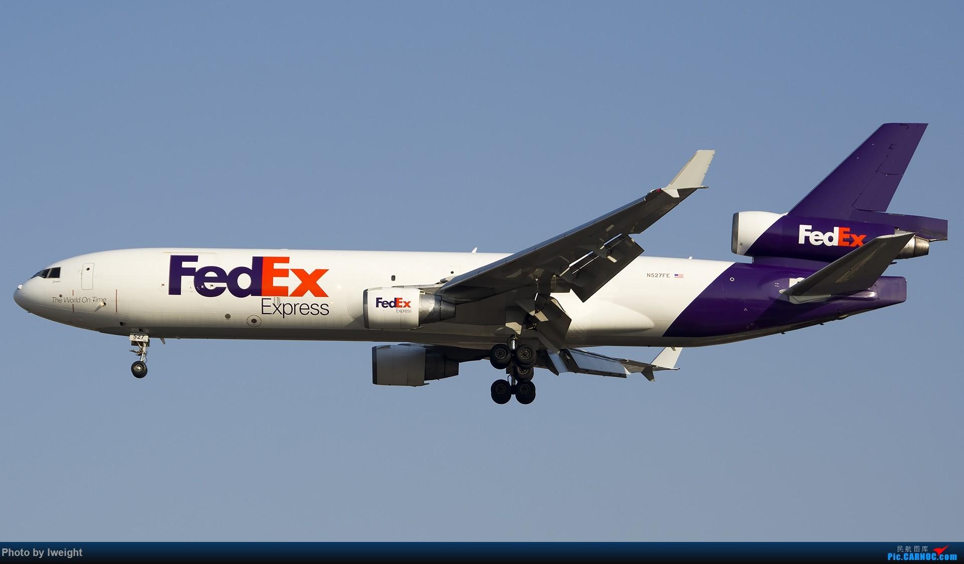 Re:[原创]2014-12-02 ZBAA随拍 MD MD-11 N527FE 中国北京首都国际机场
