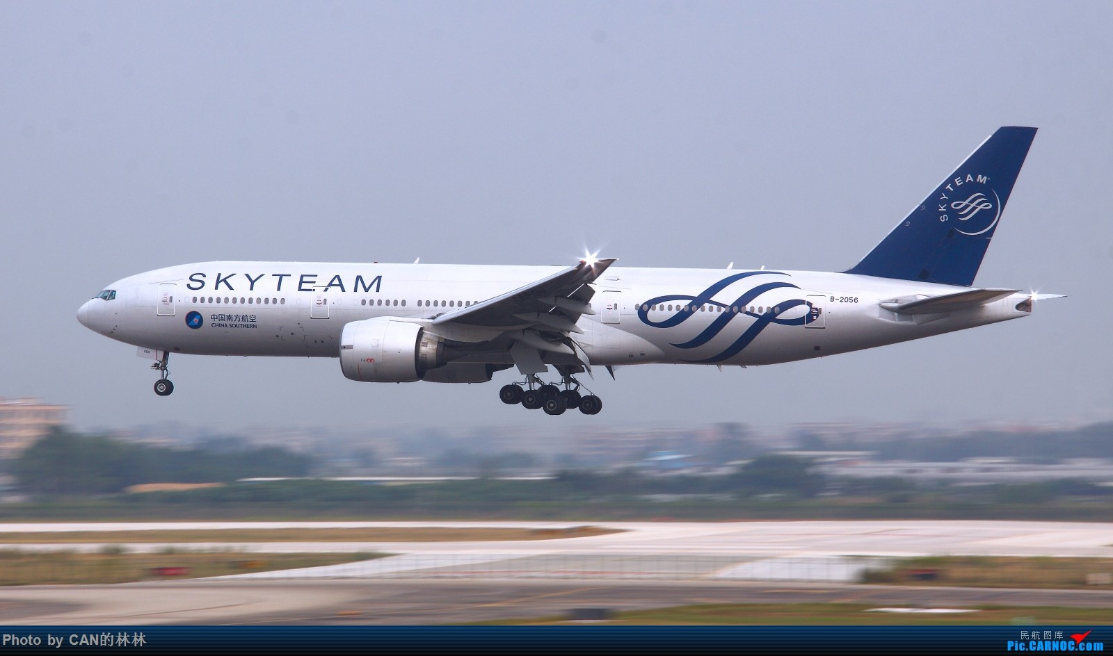 Re:[原创]发一组南航77B存货,都退了,当怀念呗,放电脑存着也发霉 BOEING 777-200 B-2056 中国广州白云国际机场
