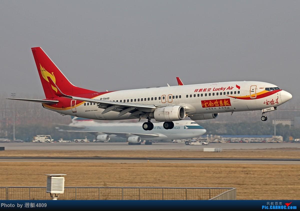 Re:[原创][郑州飞友会]新郑机场丝路航空等一组 BOEING 737-800 B-5449 中国郑州新郑国际机场