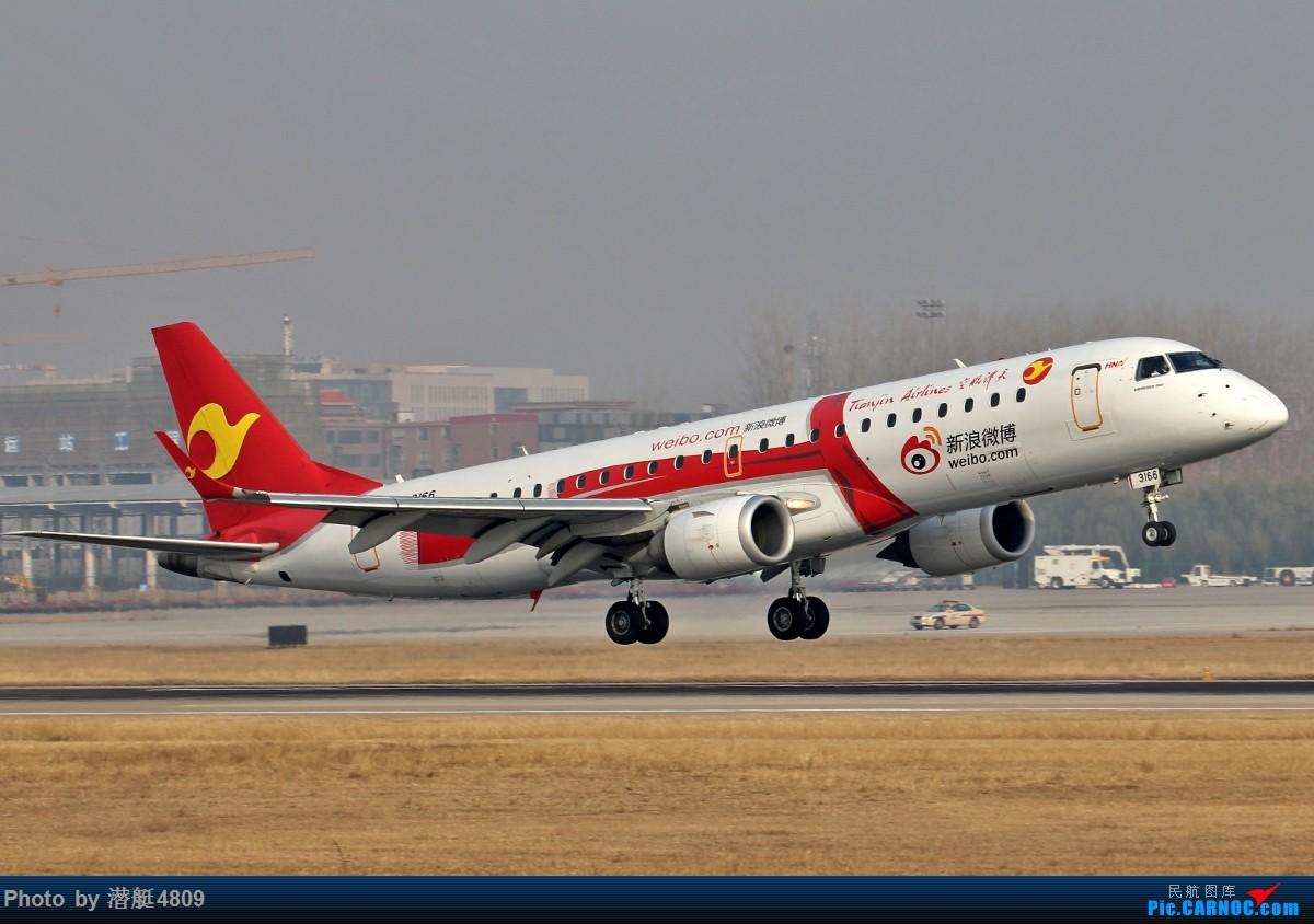Re:[原创][郑州飞友会]新郑机场丝路航空等一组 EMBRAER ERJ-190 B-3166 中国郑州新郑国际机场