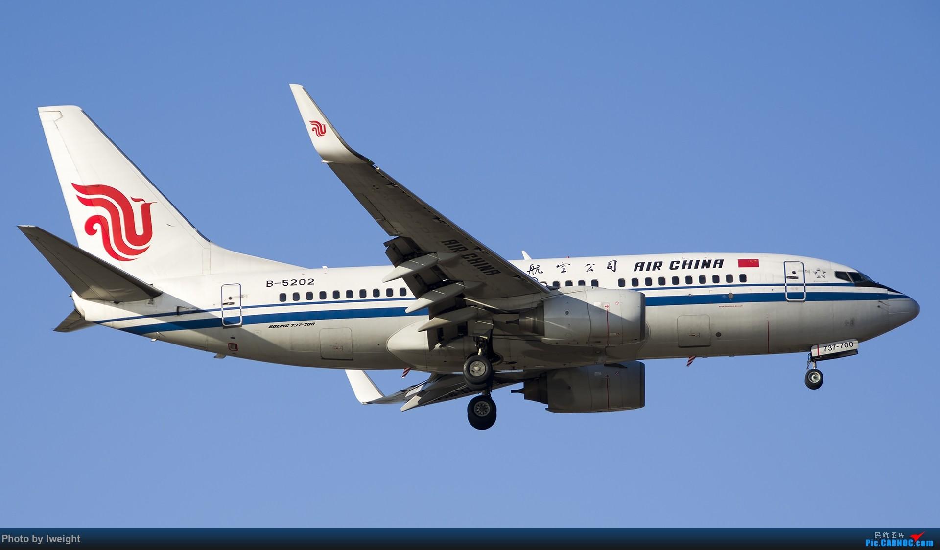 Re:[原创]2014-12-06 PEK天气由好变坏的直接体验 BOEING 737-700 B-5202 中国北京首都国际机场