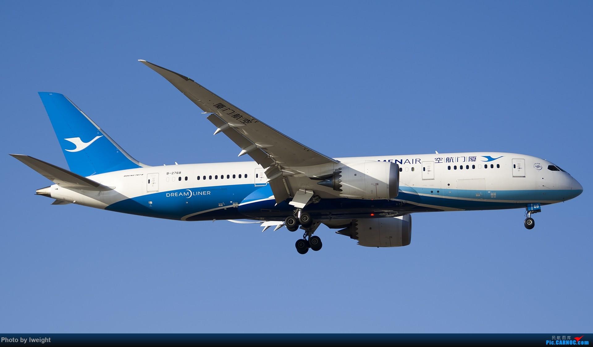 Re:[原创]2014-12-06 PEK天气由好变坏的直接体验 BOEING 787-8 B-2768 中国北京首都国际机场