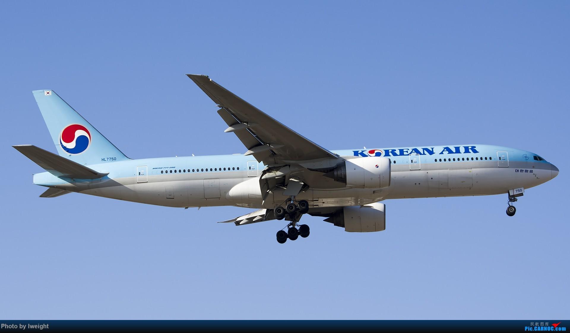 Re:[原创]2014-12-06 PEK天气由好变坏的直接体验 BOEING 777-200 HL7750 中国北京首都国际机场