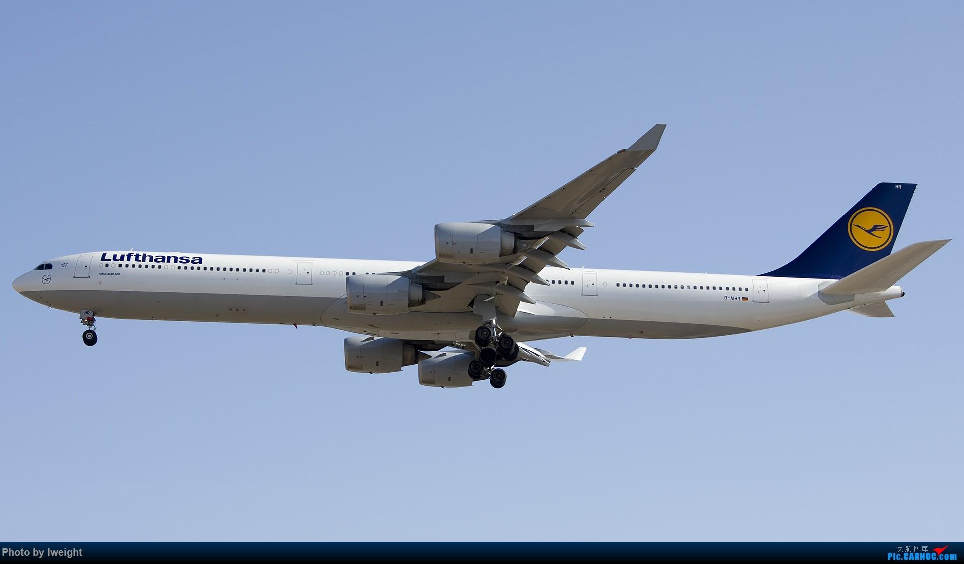 Re:[原创]2014-12-06 PEK天气由好变坏的直接体验 AIRBUS A340-600 D-AIHR 中国北京首都国际机场