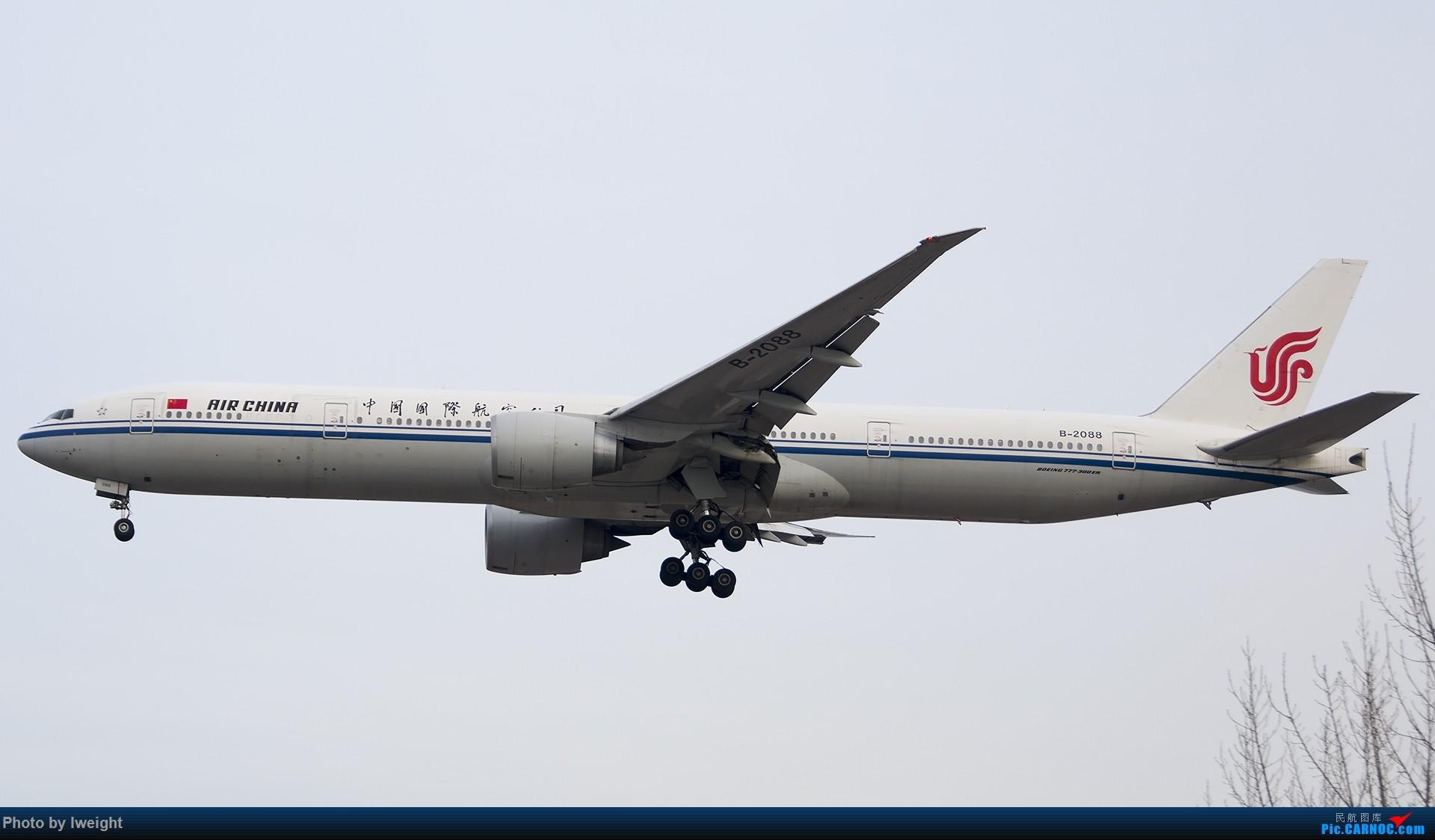 Re:[原创]2014-12-06 PEK天气由好变坏的直接体验 BOEING 777-300ER B-2088 中国北京首都国际机场