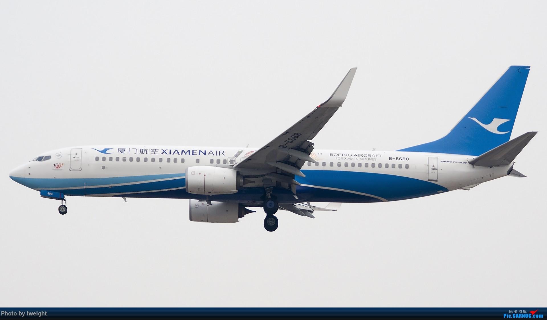 Re:[原创]2014-12-06 PEK天气由好变坏的直接体验 BOEING 737-800 B-5688 中国北京首都国际机场