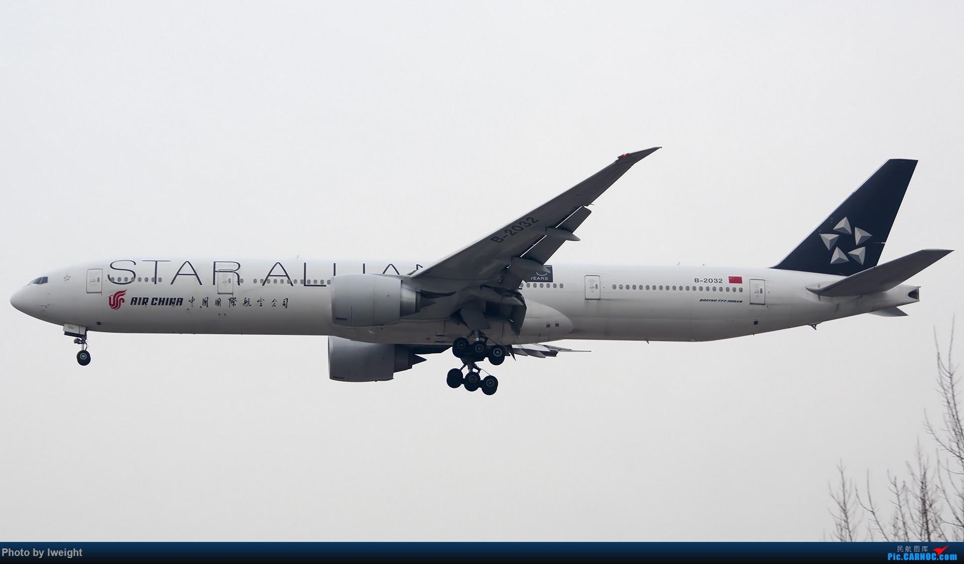 Re:[原创]2014-12-06 PEK天气由好变坏的直接体验 BOEING 777-300ER B-2032 中国北京首都国际机场