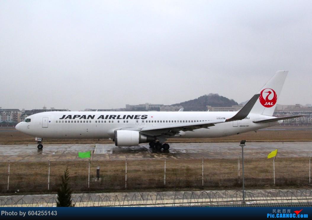 [原创]大连28跑头大雪后拍机 BOEING 767-300