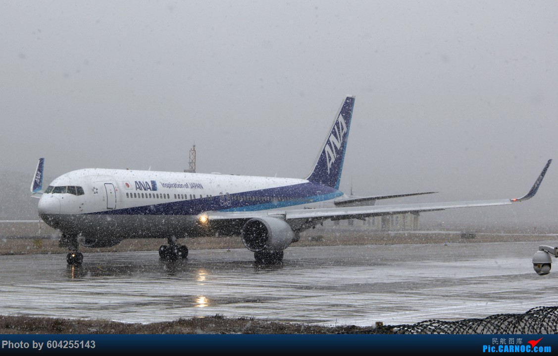 Re:[原创]大连28跑头大雪后拍机 BOEING 767-300
