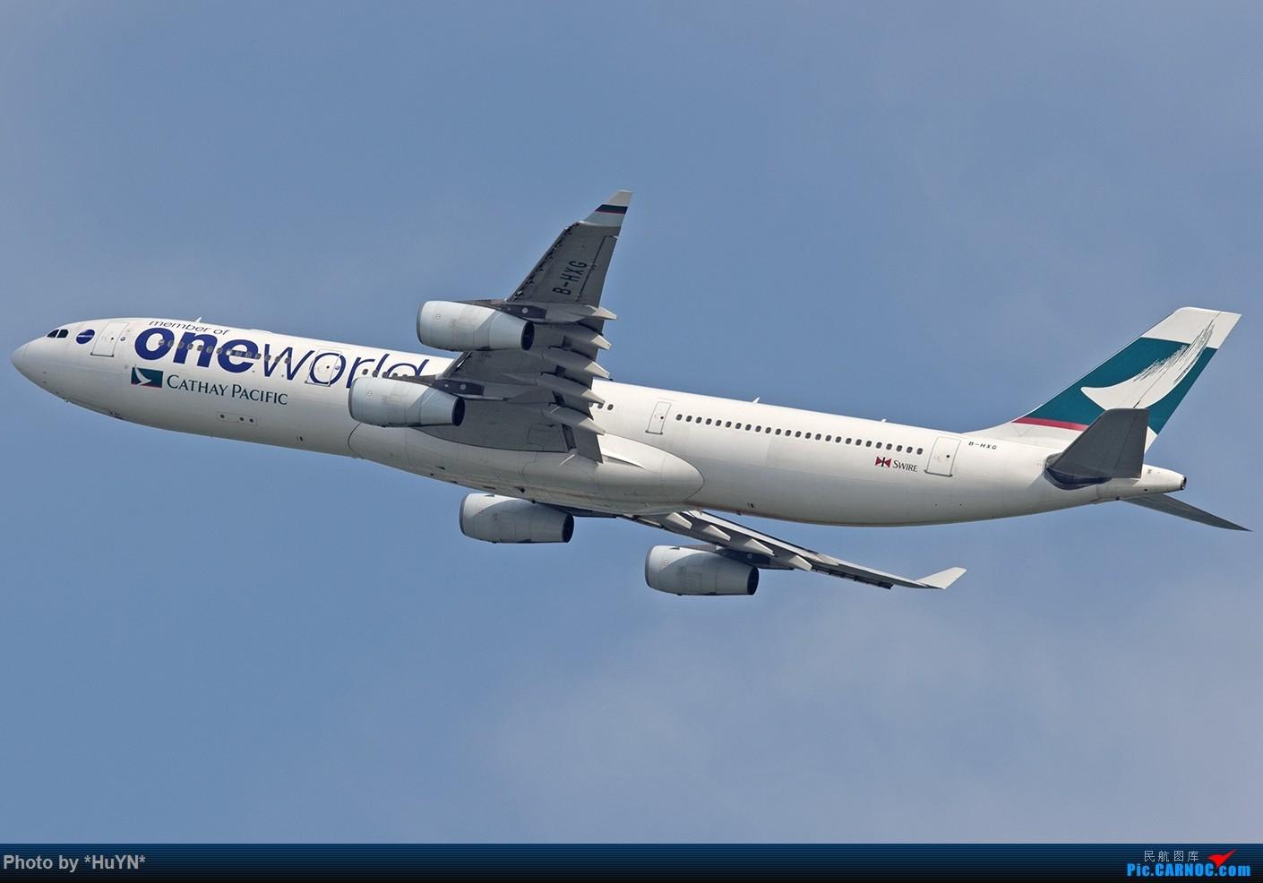Re:[原创]听说又能审图了我也试试之二 AIRBUS A340-300 B-HXG 中国香港赤鱲角国际机场