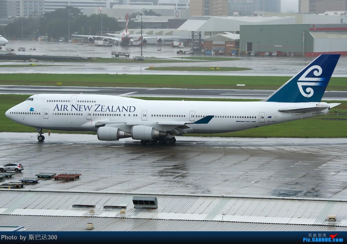 Re:[原创]重新发图,继续申请入库 BOEING 747-400 ZK-SUH 澳大利亚悉尼金斯福德·史密斯机场