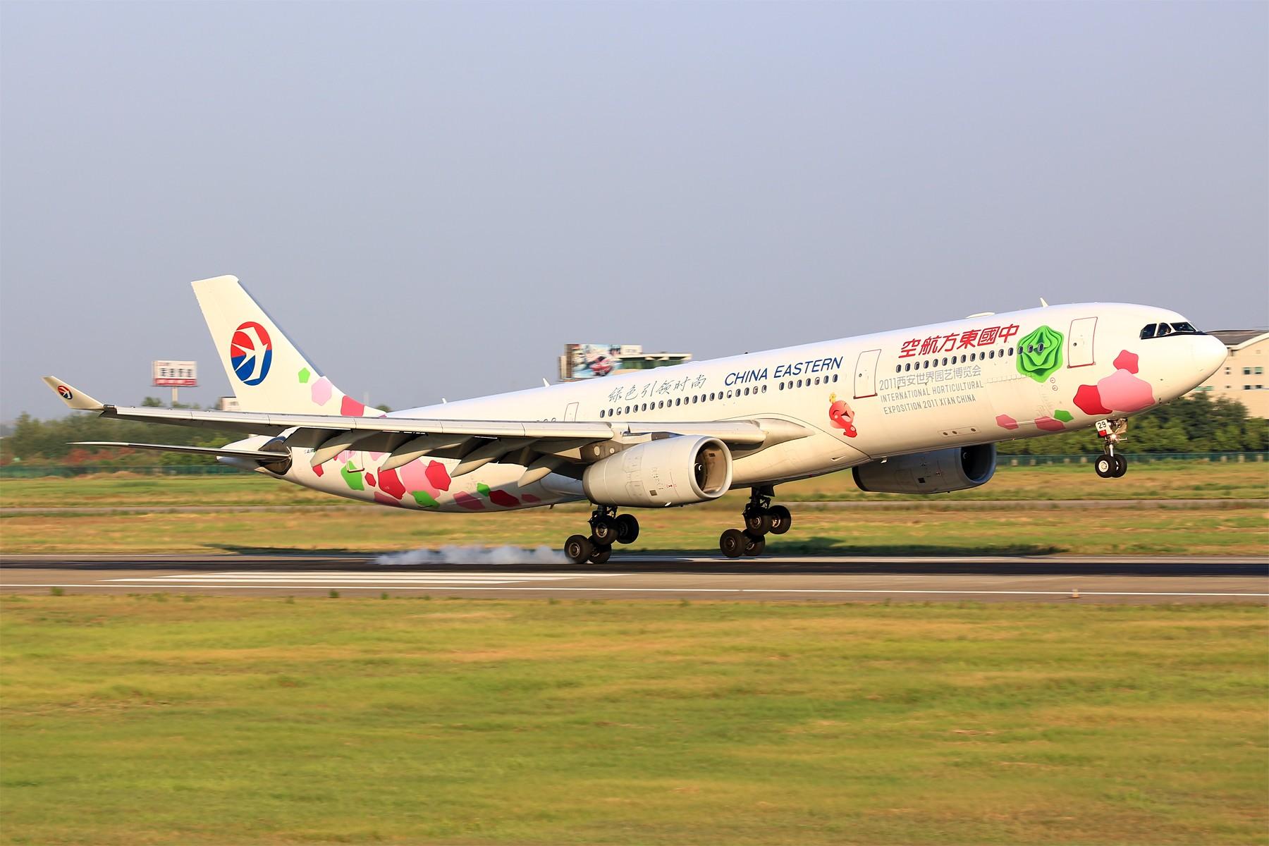 Re:[原创]【BLDDQ】刚开始拍飞机时,第一次去外地拍就是南京 AIRBUS A330-300 B-6129 中国南京禄口国际机场