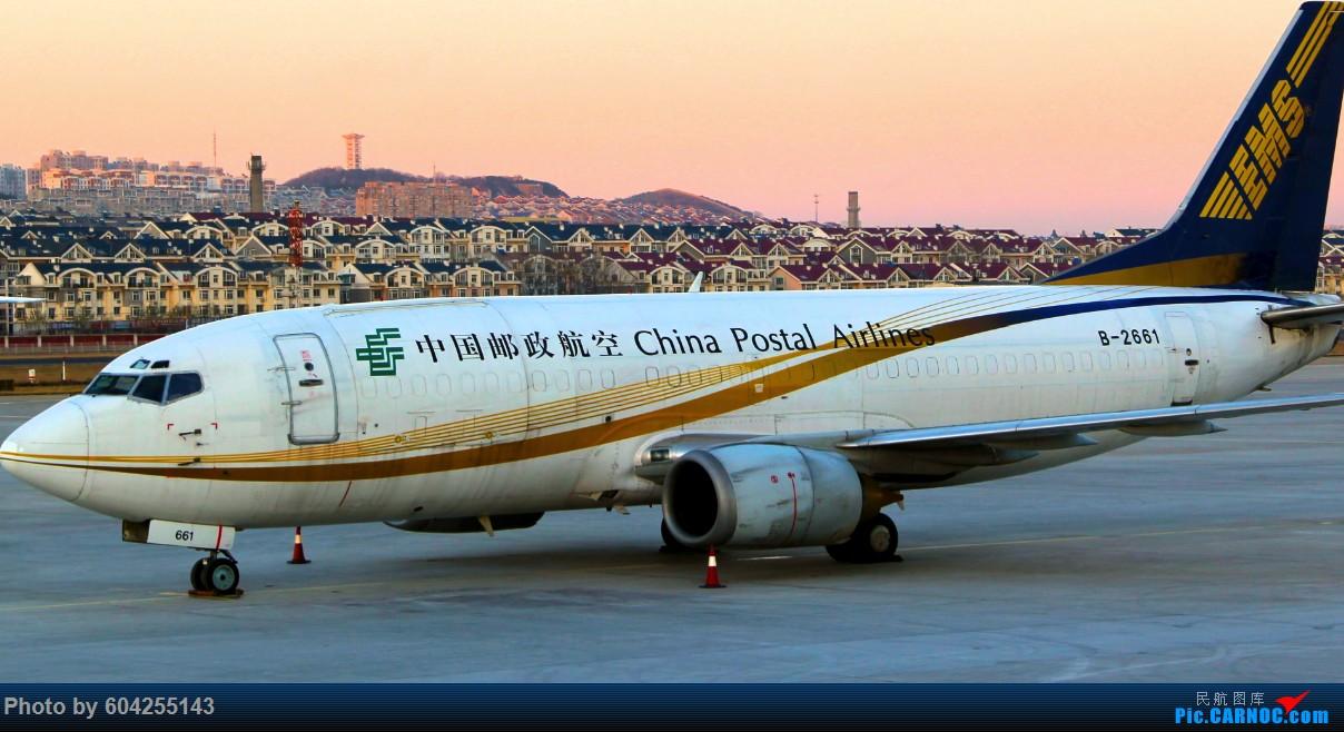"""[原创][DLC]""""内场"""" BOEING 737-300 B-2661 中国大连周水子国际机场"""