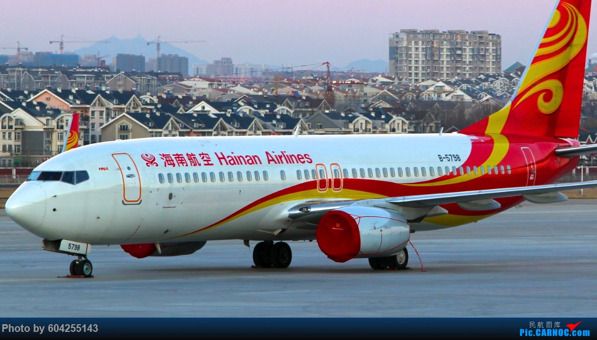 "Re:[原创][DLC]""内场"" BOEING 737-800 B-5798 中国大连周水子国际机场"