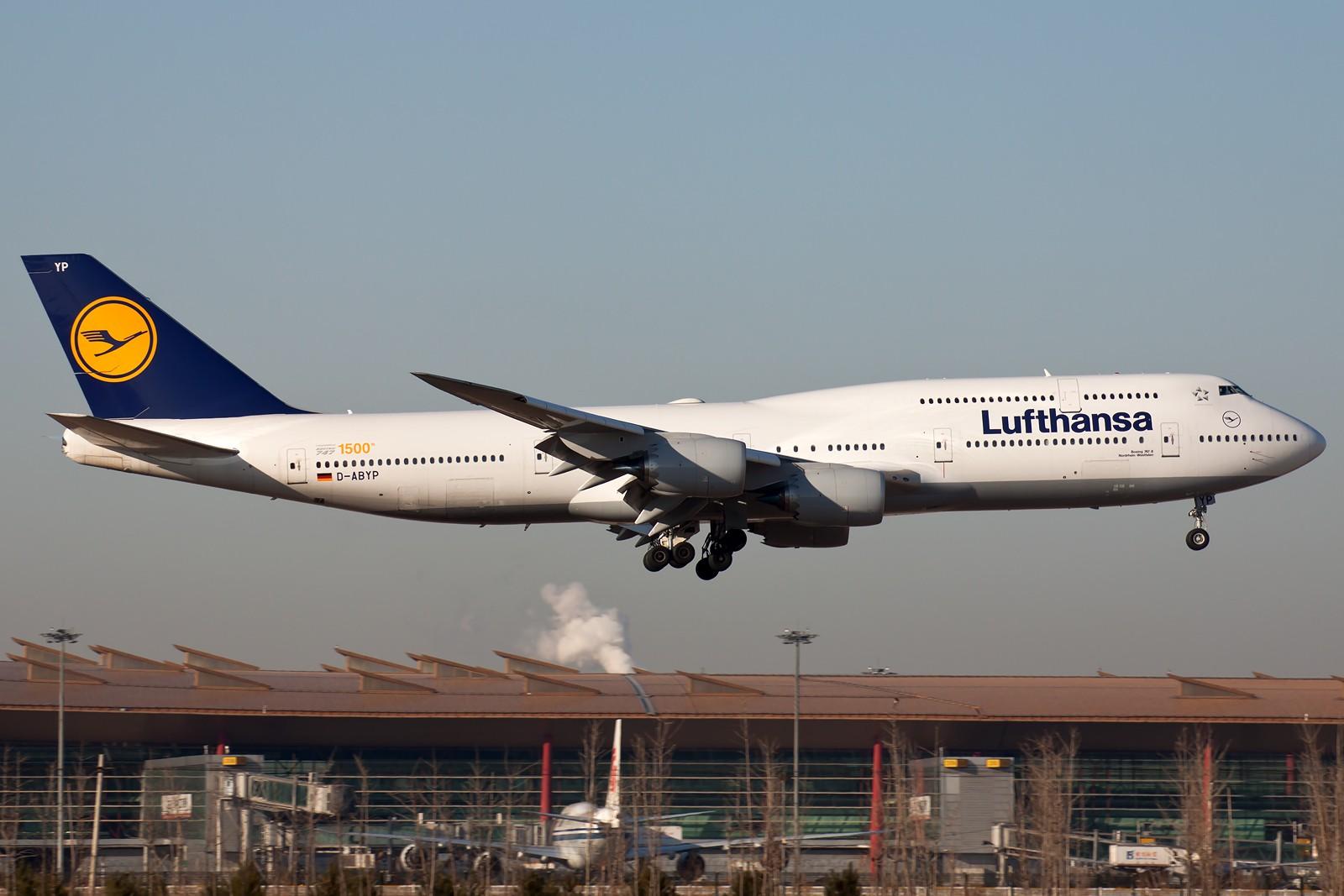 Re:[原创]10张 BOEING 747-830 D-ABYP 中国北京首都国际机场