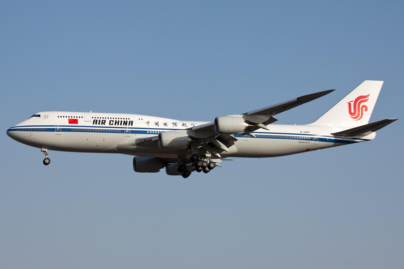 Re:[原创]10张 BOEING 747-89L B-2487 中国北京首都国际机场