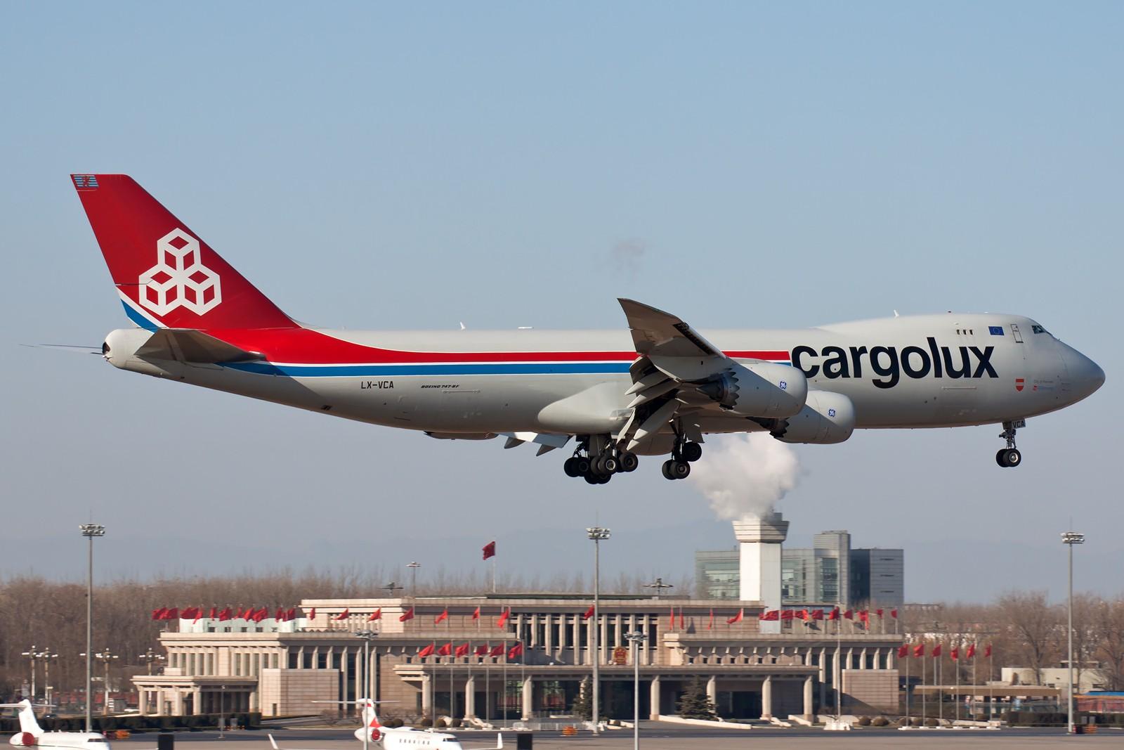 Re:[原创]10张 BOEING 747-8R7F LX-VCA 中国北京首都国际机场