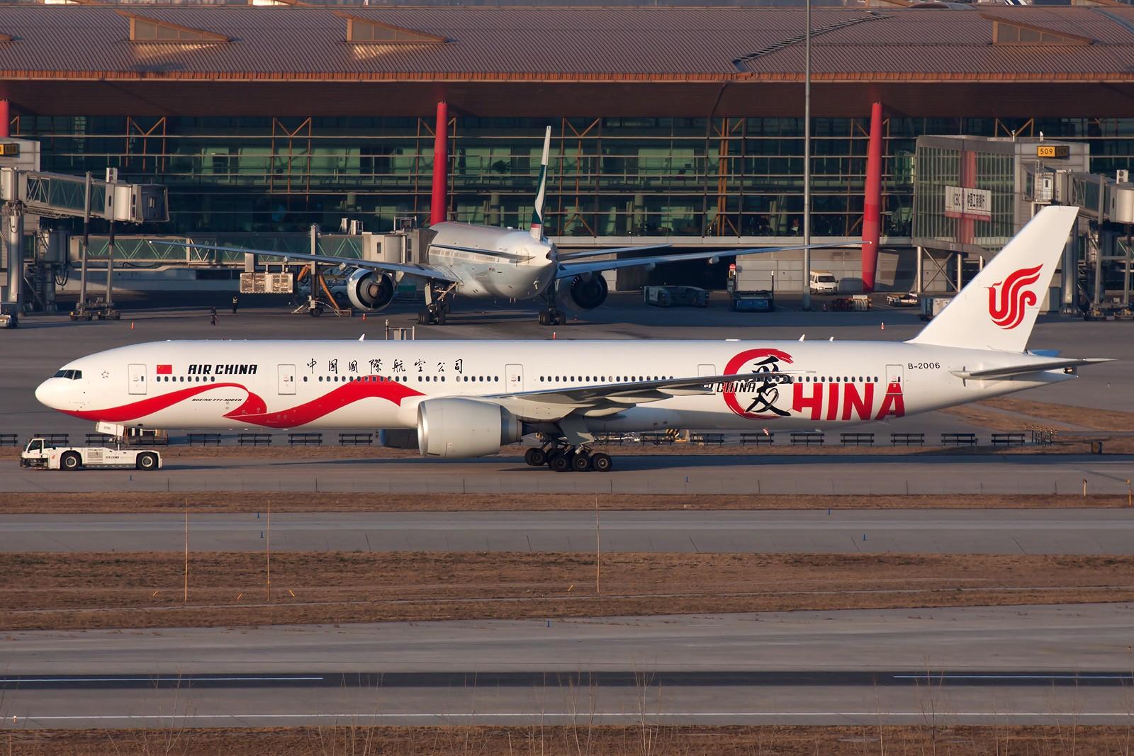 Re:[原创]10张 BOEING 777-39L(ER) B-2006 中国北京首都国际机场