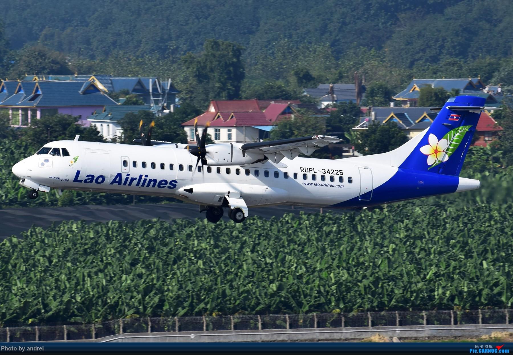 [原创]看到一个个尘封的ID都蹦出来了,也来Mark 2014 ATR-72-600 RDPL-34225 中国西双版纳嘎洒机场