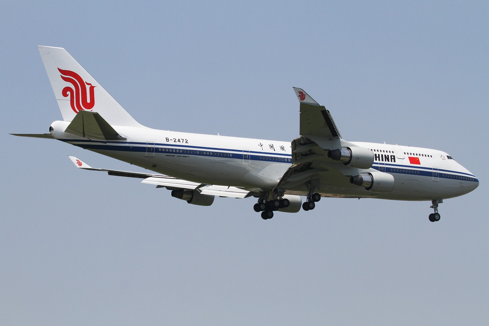 Re:[原创]【SHA/PVG/NKG/HKG/PEK】***********2014年度总结*********** BOEING 747-400 B-2472 中国北京首都国际机场