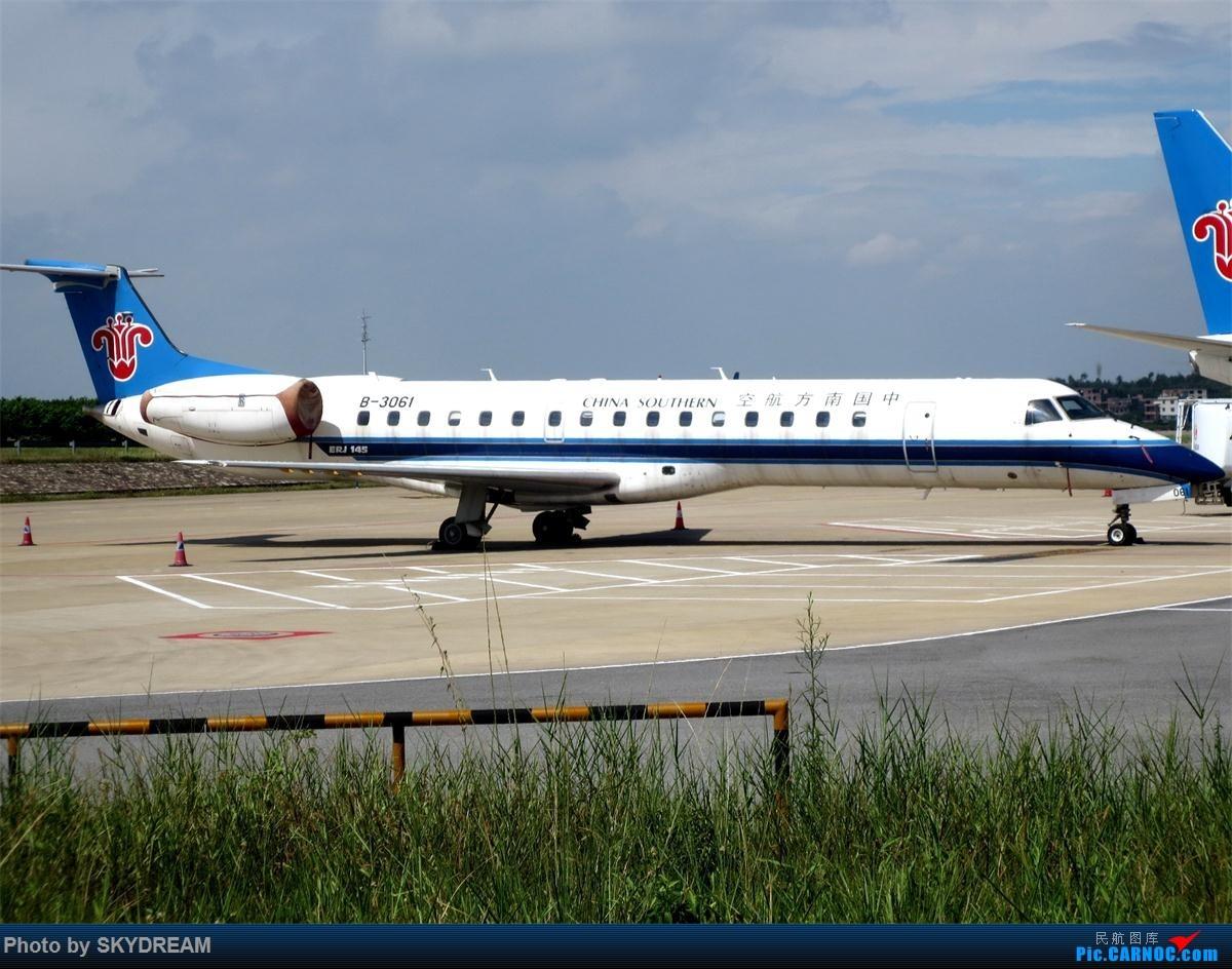 Re:[原创]一次偶然机会,发现这个网站,从此,成为飞友一员 EMBRAER ERJ-145 B-3061 中国广州白云国际机场