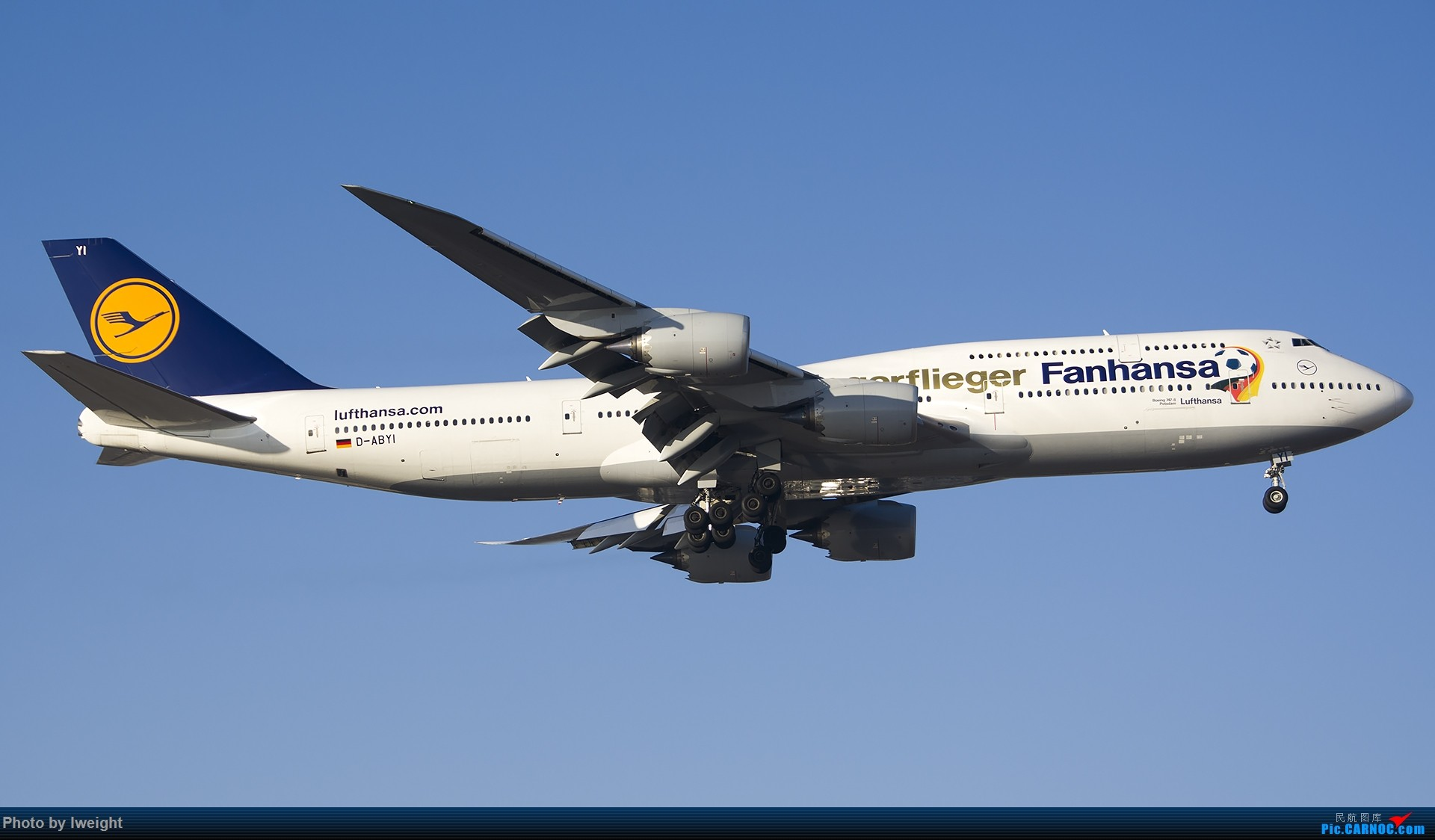 Re:[原创]庆祝升级777,发上今天在首都机场拍的所有飞机【2014-12-14】 BOEING 747-8I D-ABYI 中国北京首都国际机场