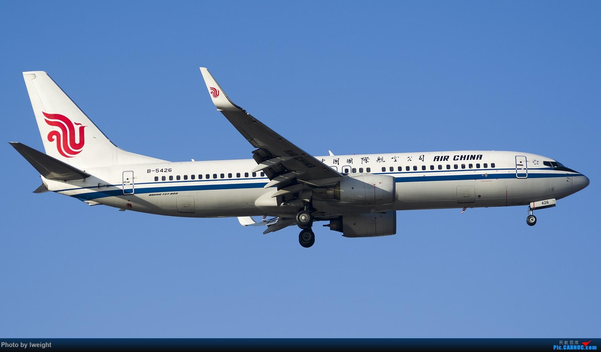 Re:[原创]庆祝升级777,发上今天在首都机场拍的所有飞机【2014-12-14】 BOEING 737-800 B-5426 中国北京首都国际机场