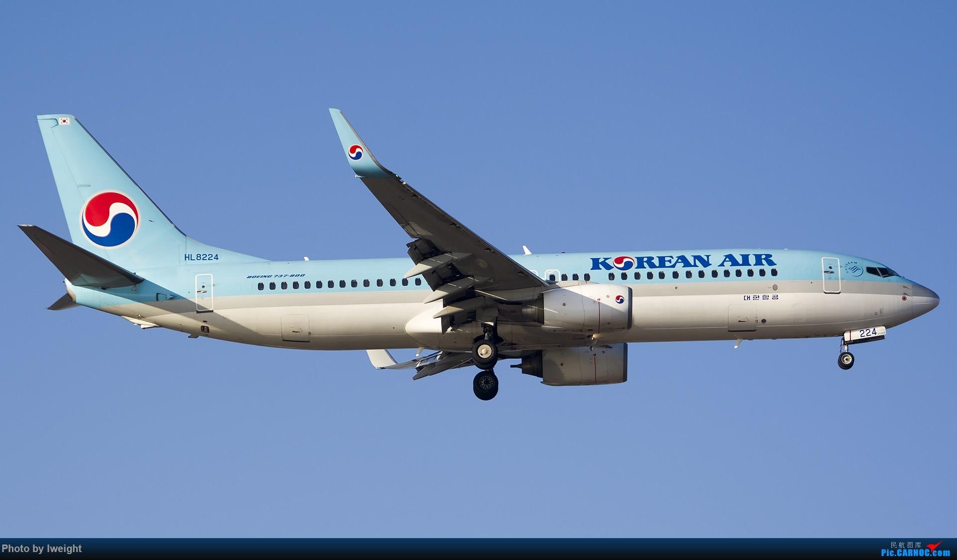 Re:[原创]庆祝升级777,发上今天在首都机场拍的所有飞机【2014-12-14】 BOEING 737-800 HL8224 中国北京首都国际机场
