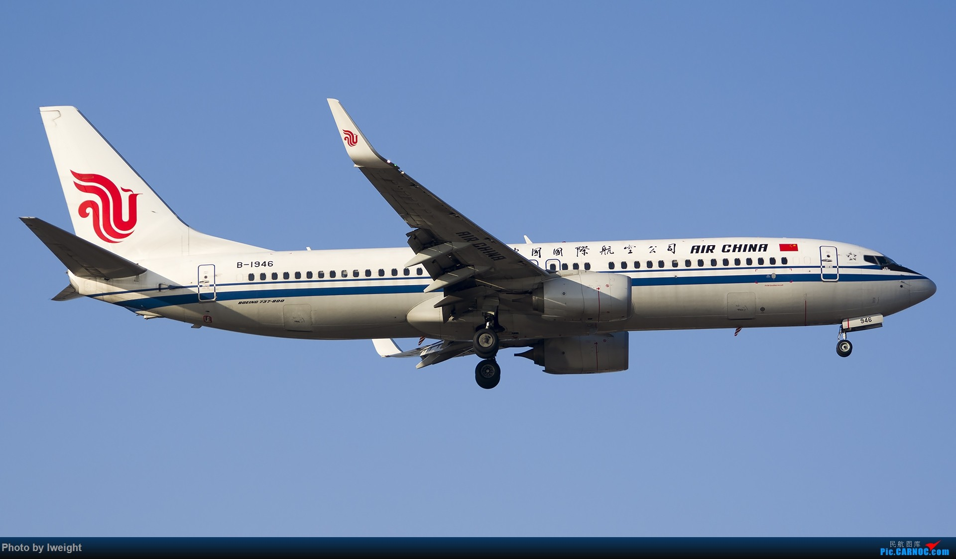 Re:[原创]庆祝升级777,发上今天在首都机场拍的所有飞机【2014-12-14】 BOEING 737-800 B-1946 中国北京首都国际机场