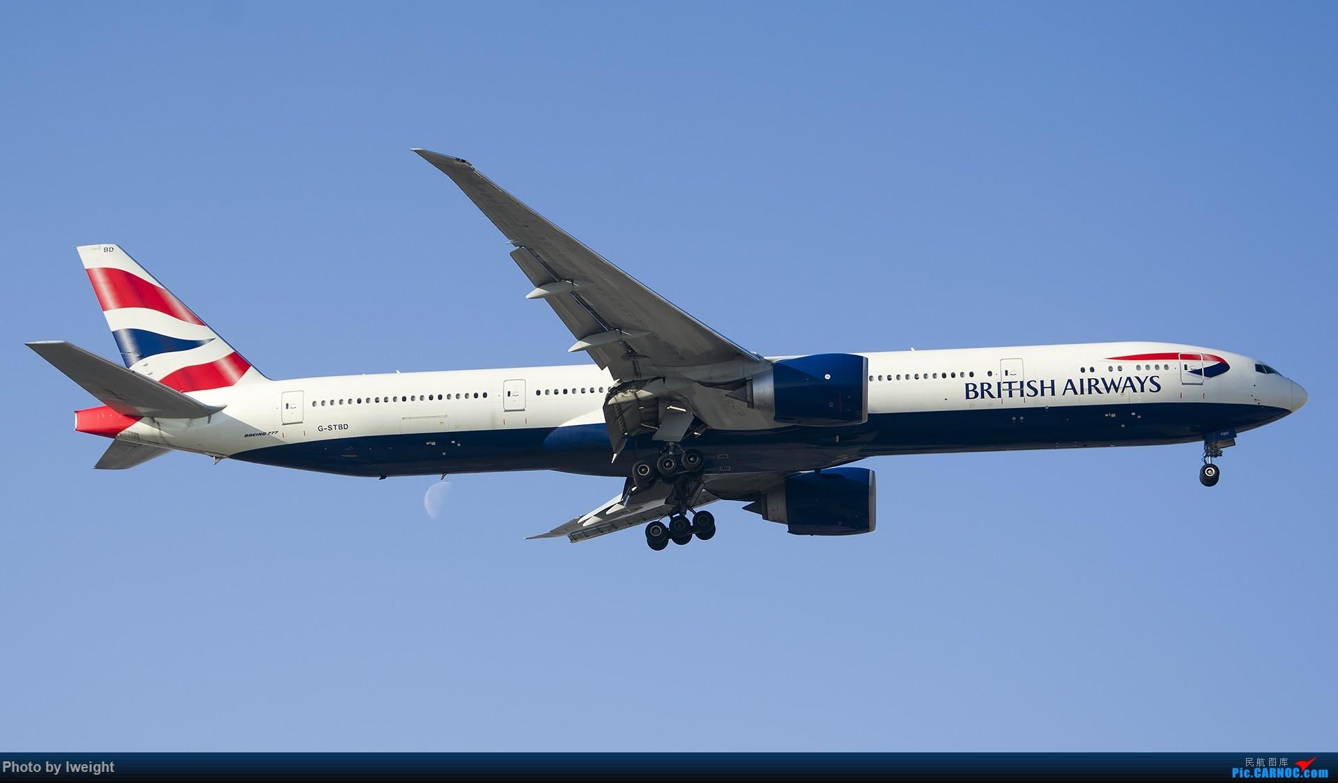 Re:[原创]庆祝升级777,发上今天在首都机场拍的所有飞机【2014-12-14】 BOEING 777-300ER G-STBD 中国北京首都国际机场