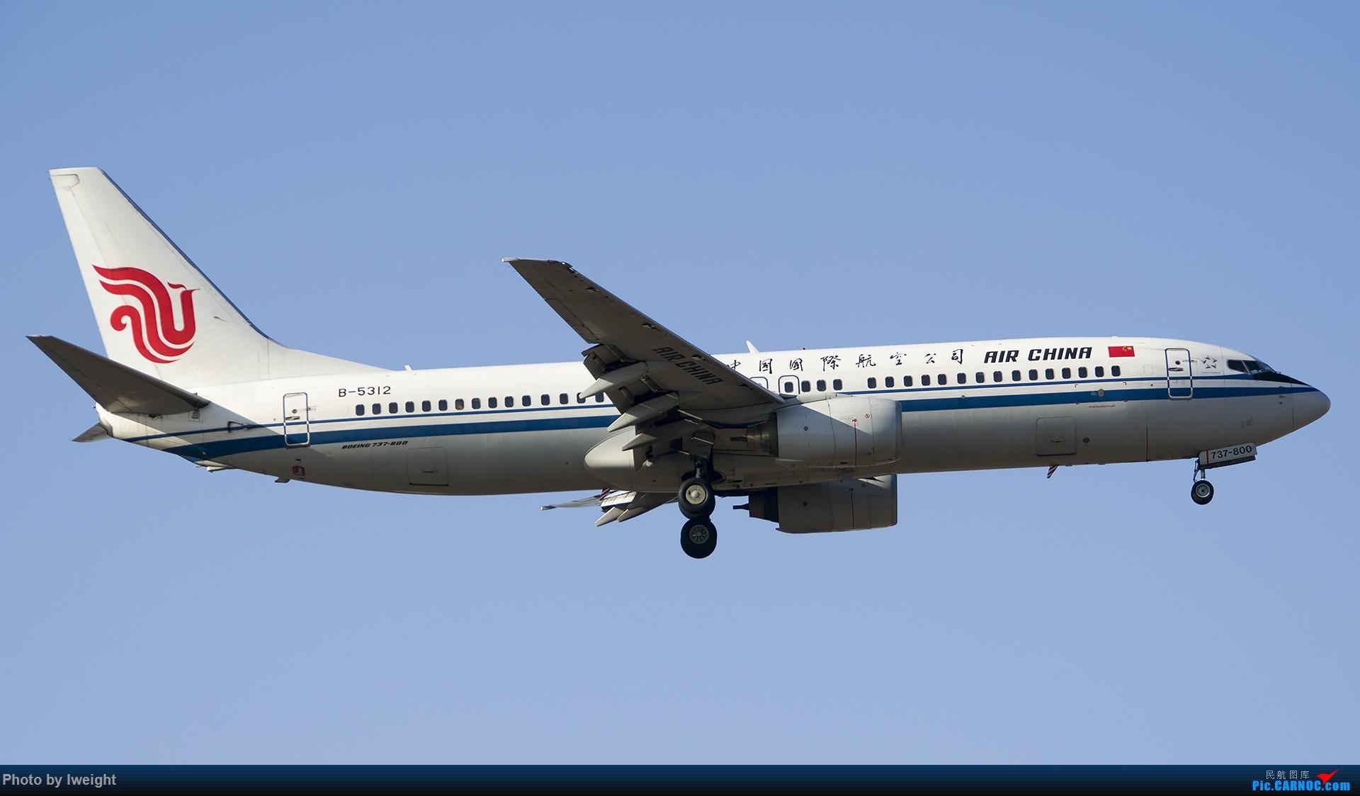 Re:[原创]庆祝升级777,发上今天在首都机场拍的所有飞机【2014-12-14】 BOEING 737-800 B-5312 中国北京首都国际机场