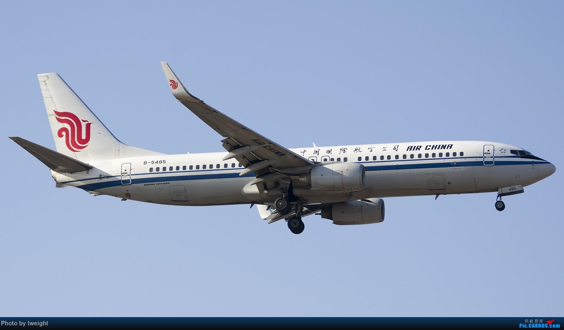 Re:[原创]庆祝升级777,发上今天在首都机场拍的所有飞机【2014-12-14】 BOEING 737-800 B-5485 中国北京首都国际机场