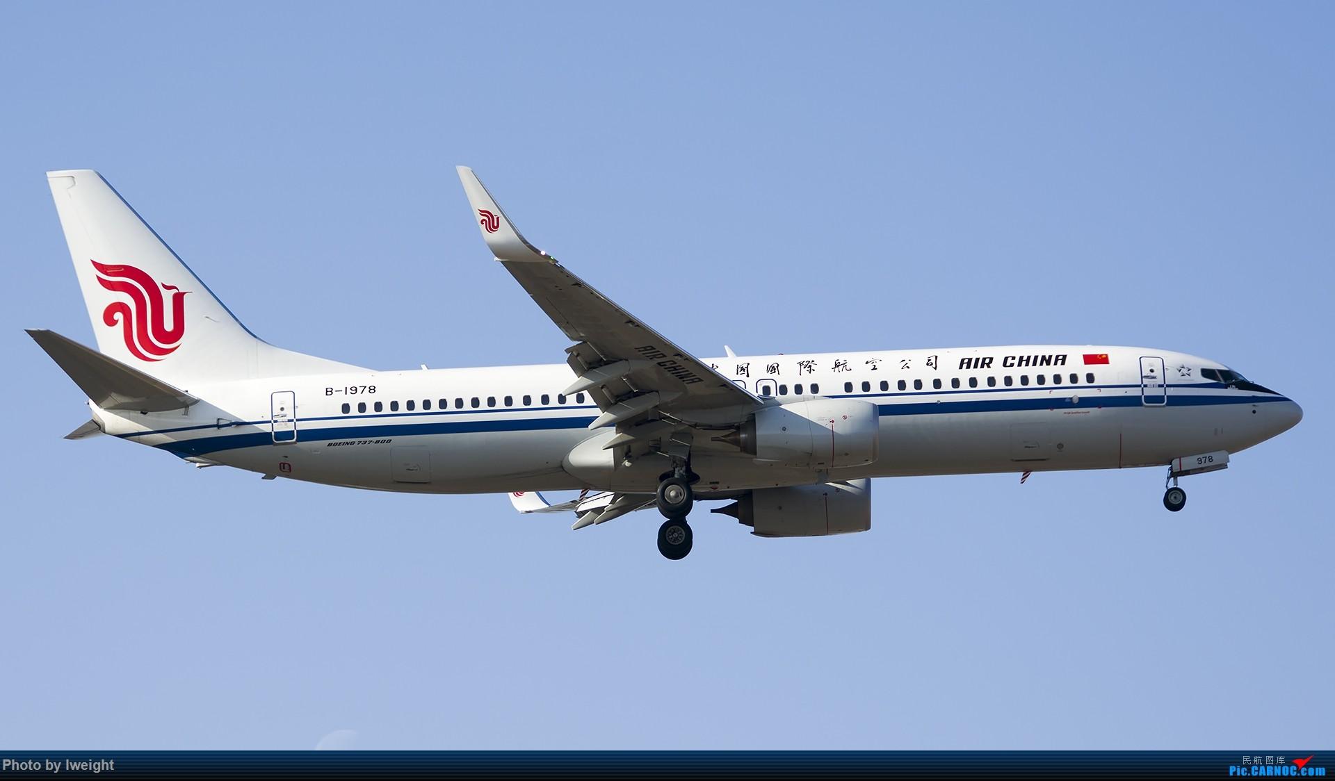 Re:[原创]庆祝升级777,发上今天在首都机场拍的所有飞机【2014-12-14】 BOEING 737-800 B-1978 中国北京首都国际机场