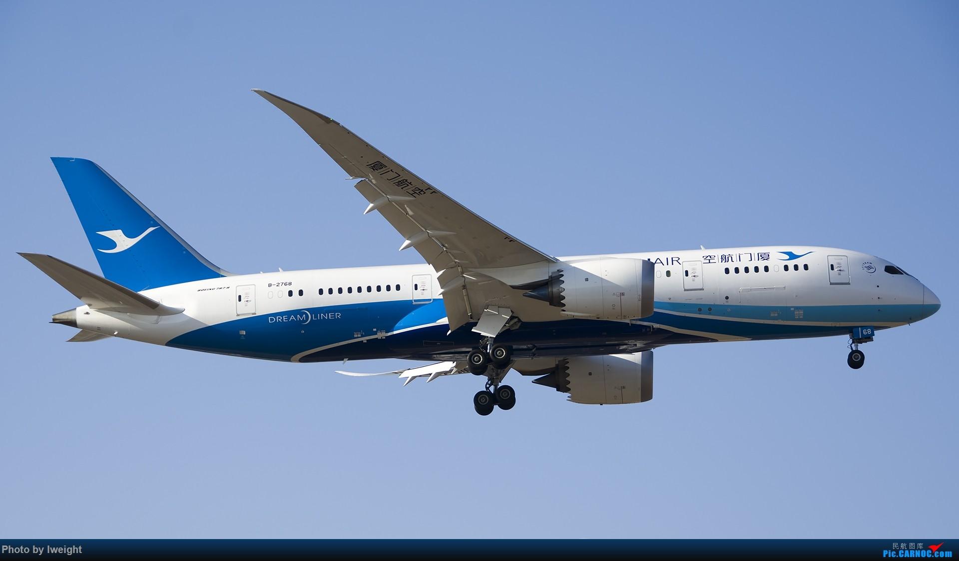 Re:[原创]庆祝升级777,发上今天在首都机场拍的所有飞机【2014-12-14】 BOEING 787-8 B-2768 中国北京首都国际机场