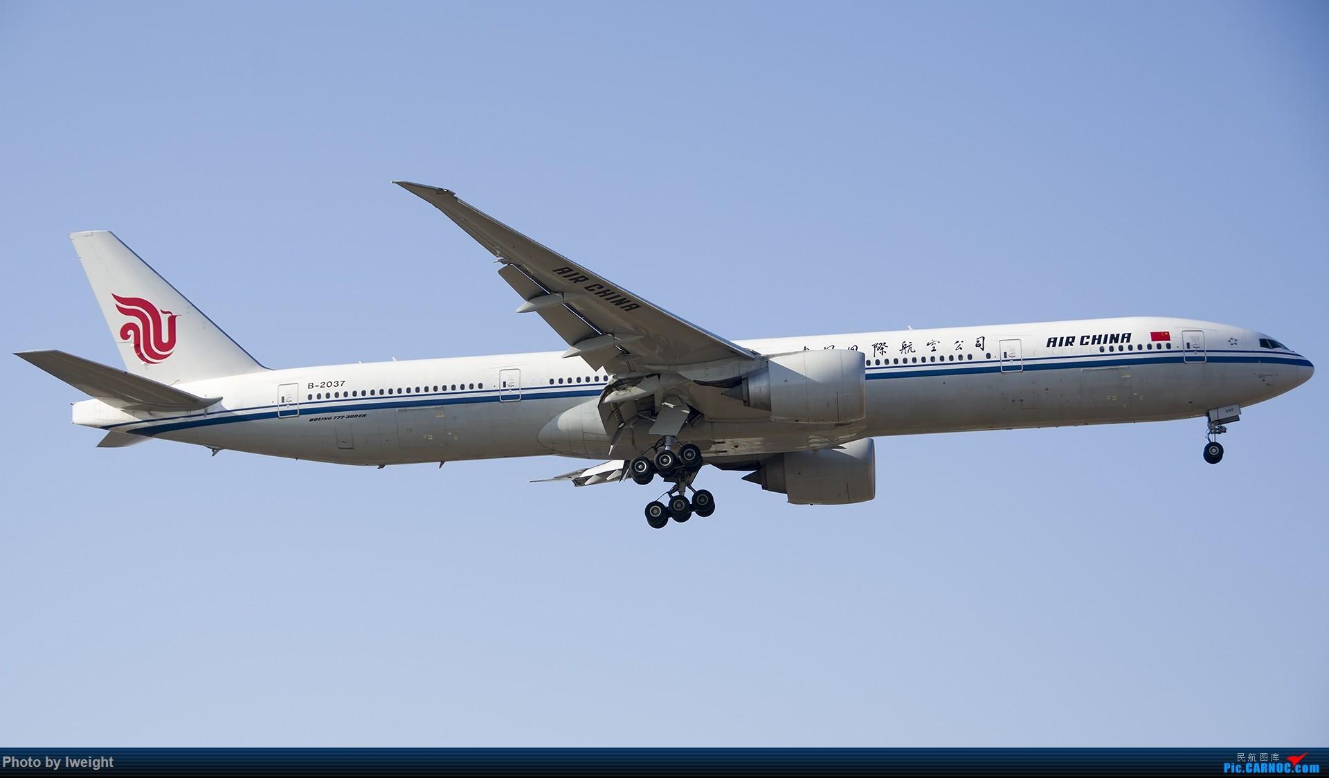 Re:[原创]庆祝升级777,发上今天在首都机场拍的所有飞机【2014-12-14】 BOEING 777-300ER B-2037 中国北京首都国际机场