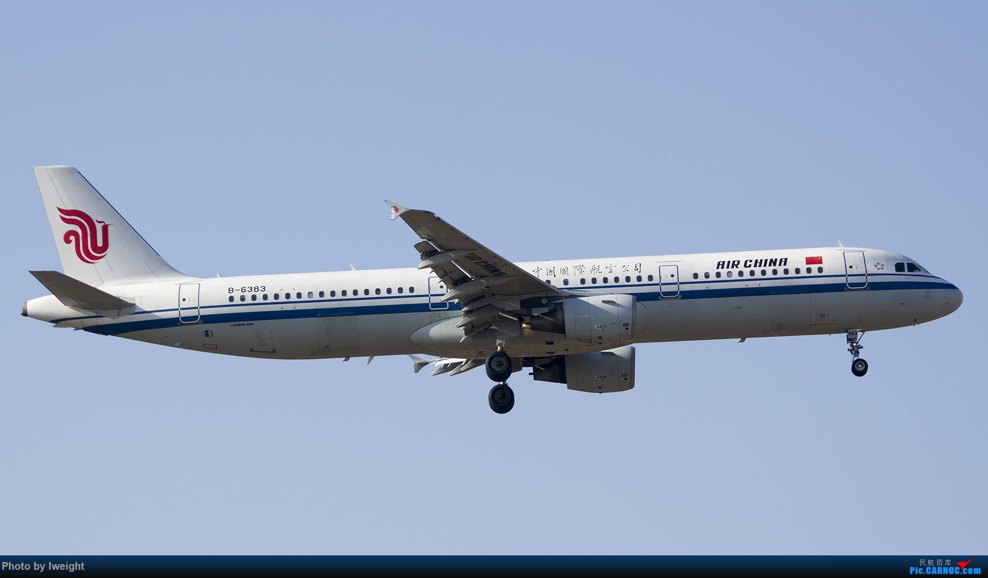 Re:[原创]庆祝升级777,发上今天在首都机场拍的所有飞机【2014-12-14】 AIRBUS A321-200 B-6383 中国北京首都国际机场