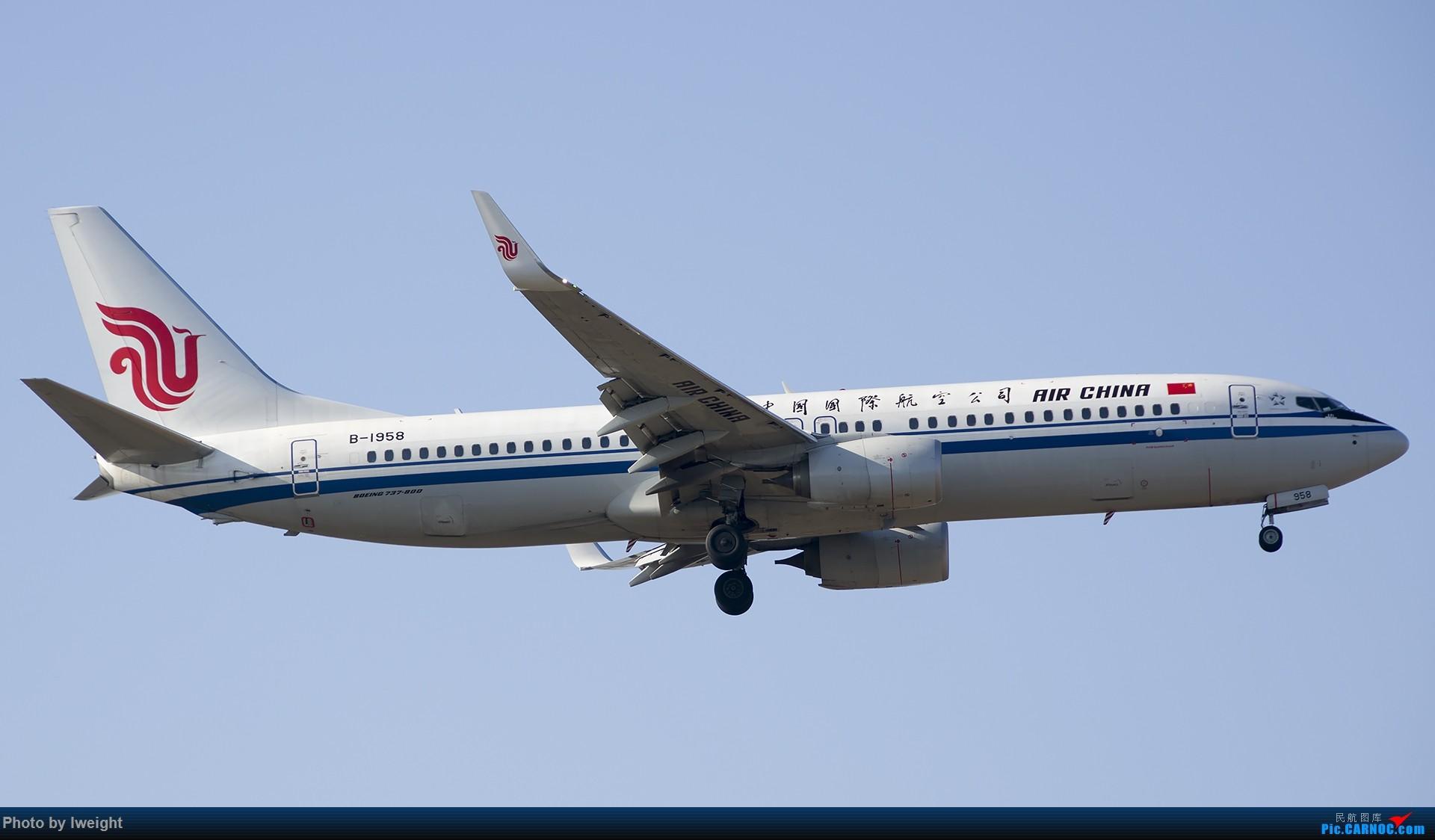Re:[原创]庆祝升级777,发上今天在首都机场拍的所有飞机【2014-12-14】 BOEING 737-800 B-1958 中国北京首都国际机场