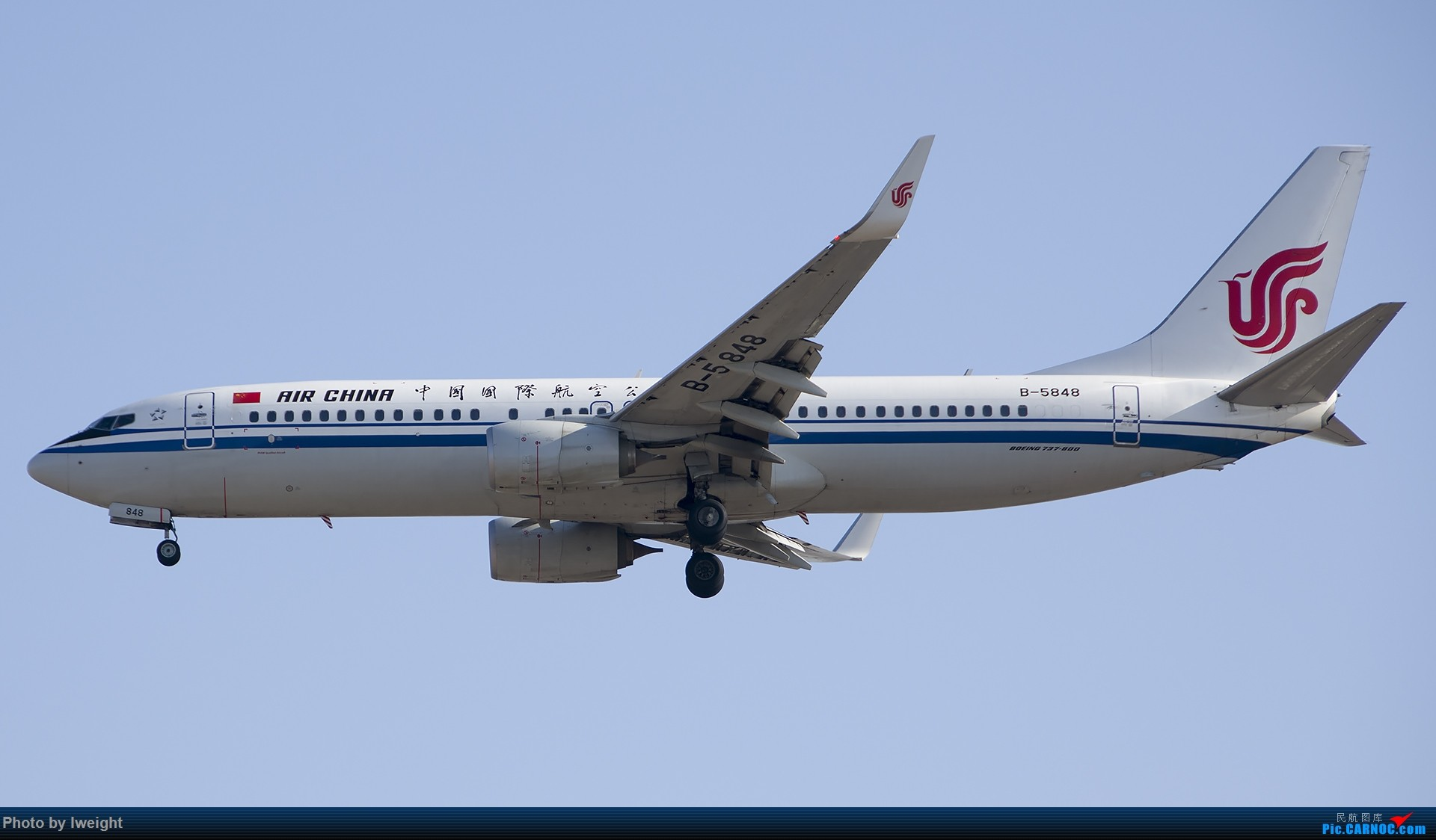 Re:[原创]庆祝升级777,发上今天在首都机场拍的所有飞机【2014-12-14】 BOEING 737-800 B-5848 中国北京首都国际机场